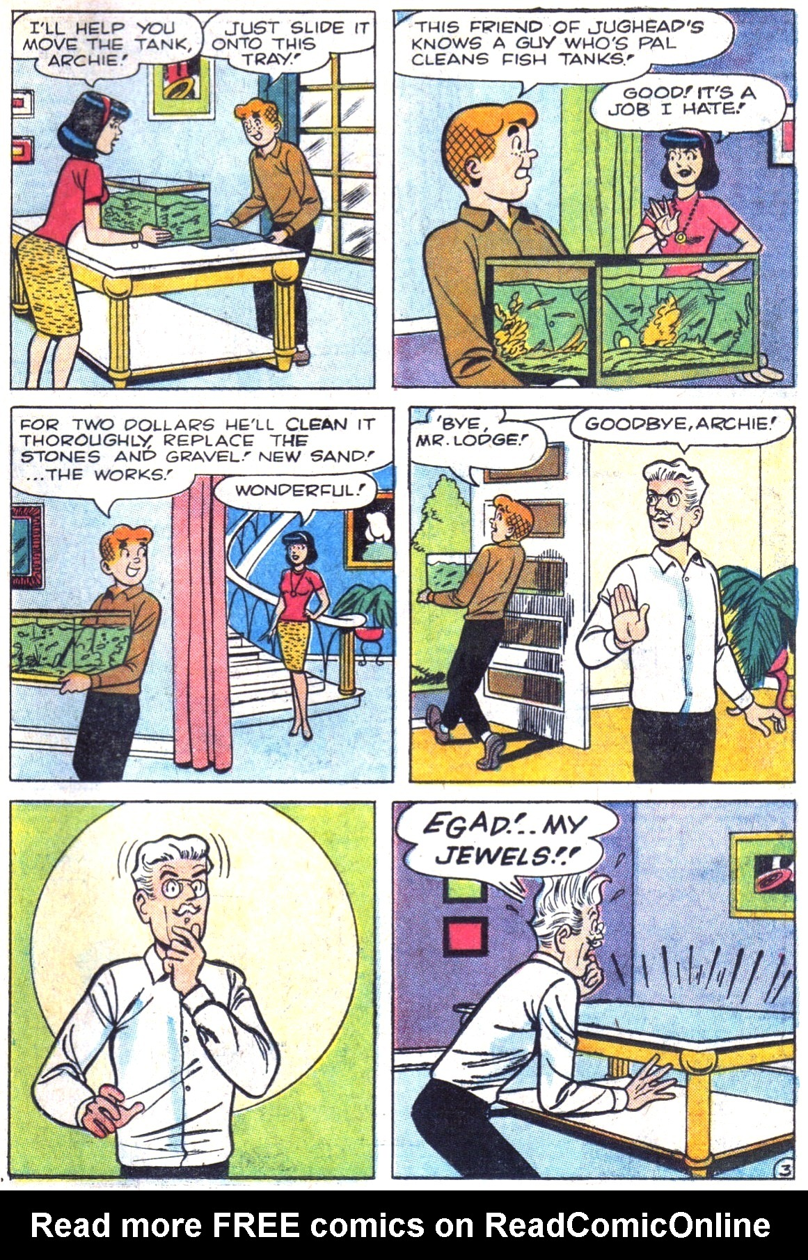 Read online Archie (1960) comic -  Issue #161 - 31