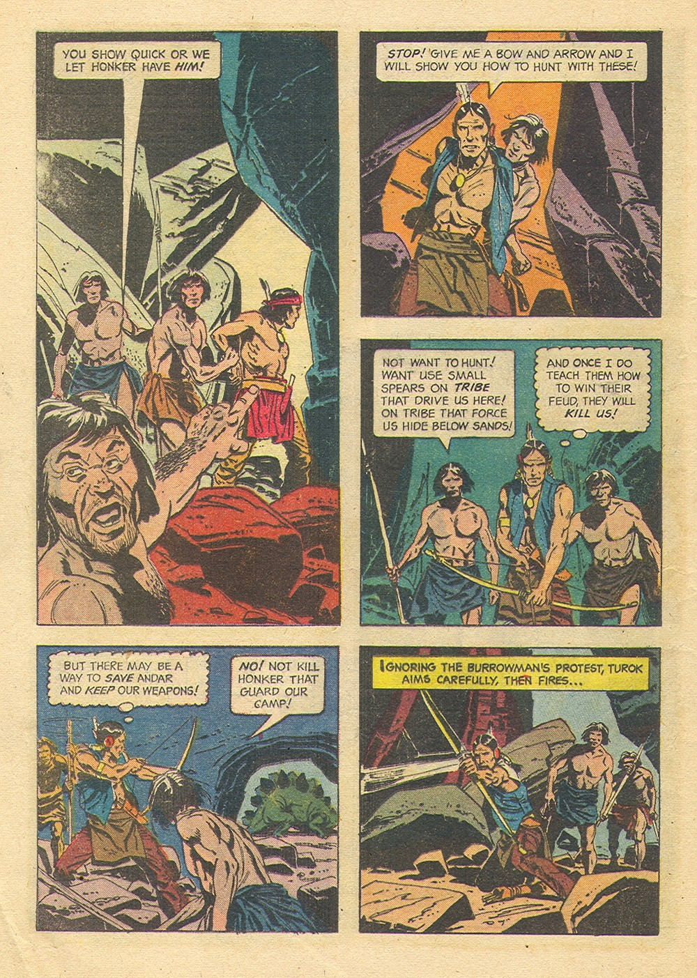Read online Turok, Son of Stone comic -  Issue #35 - 32