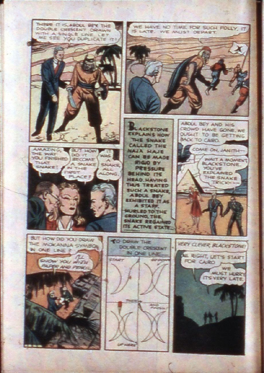 Read online Super-Magician Comics comic -  Issue #3 - 16