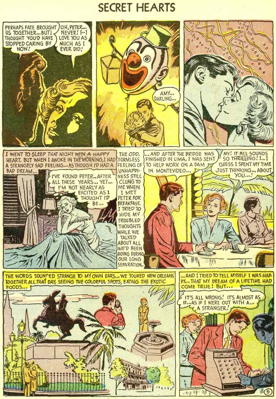 Read online Secret Hearts comic -  Issue #21 - 15