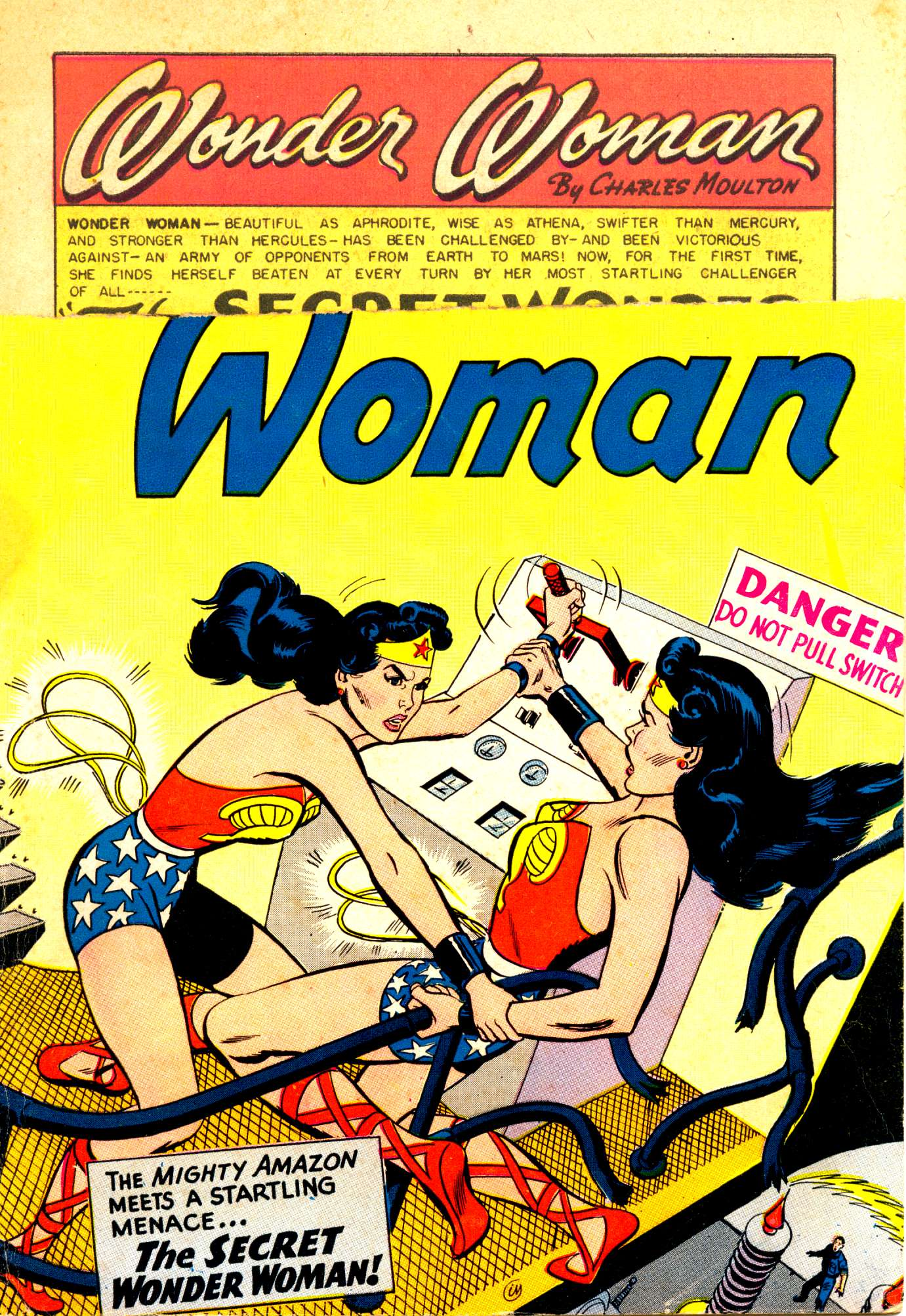 Read online Wonder Woman (1942) comic -  Issue #84 - 1