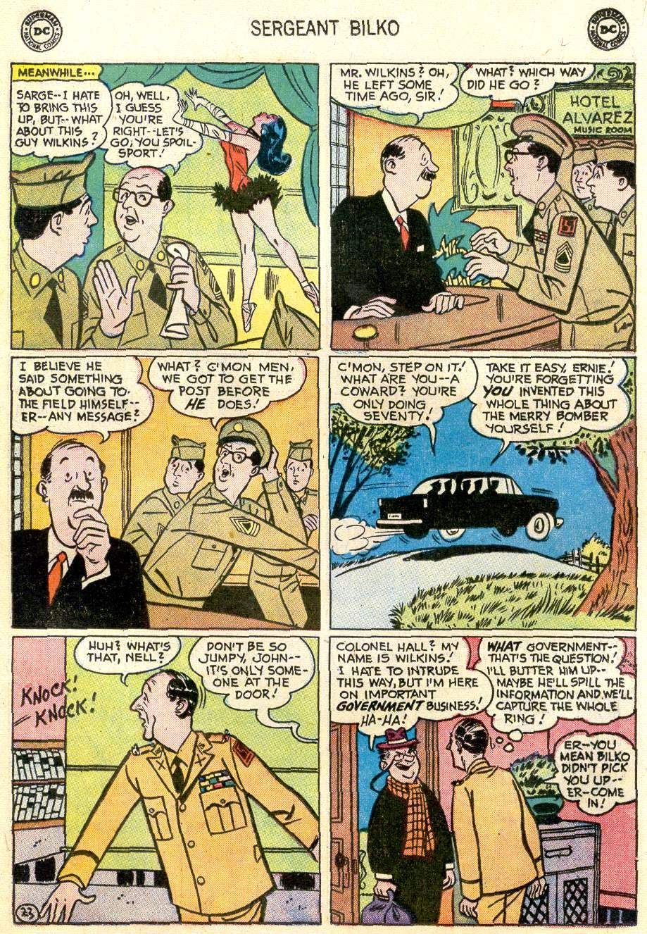 Sergeant Bilko issue 2 - Page 25