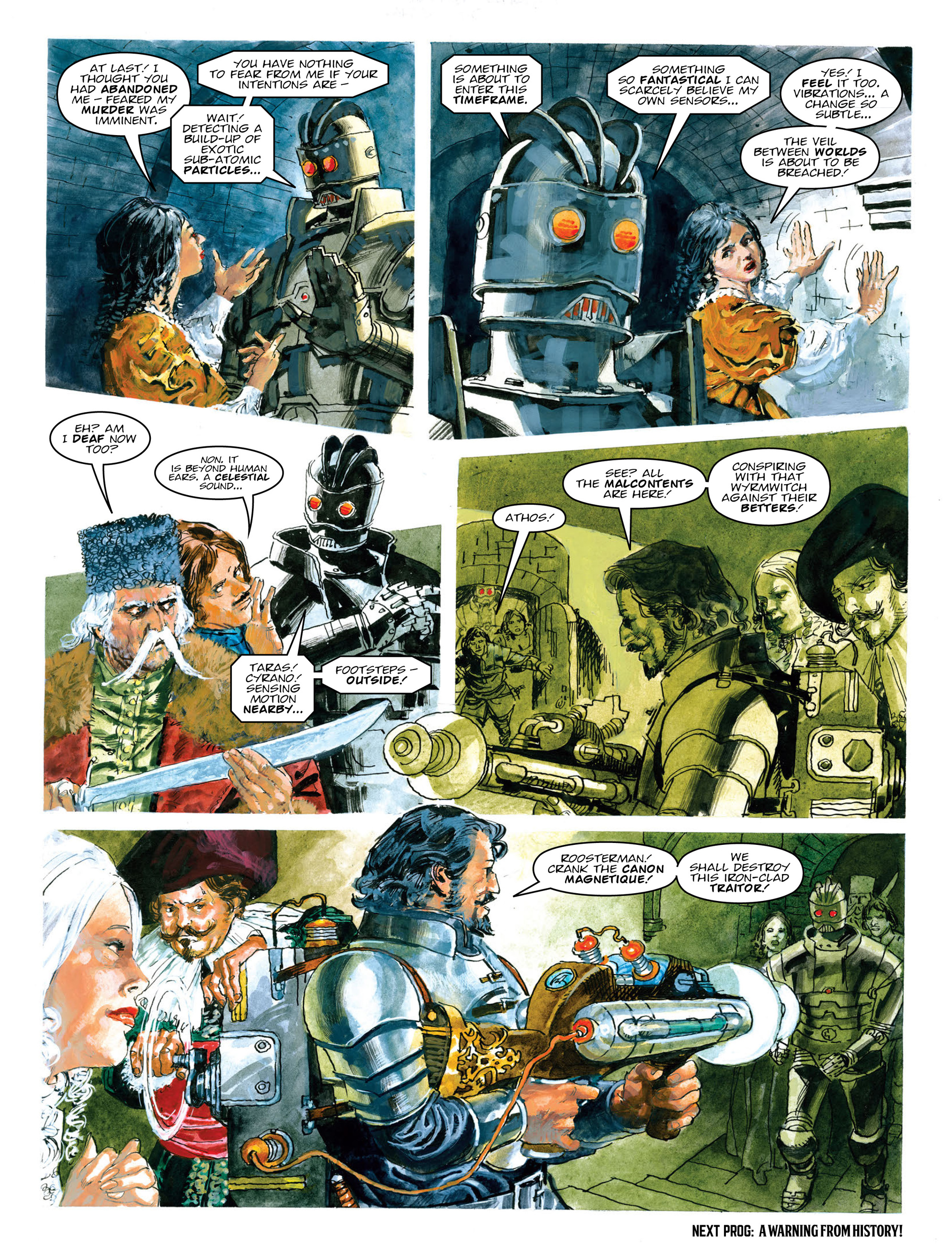 Read online 2000 AD comic -  Issue #2013 - 24