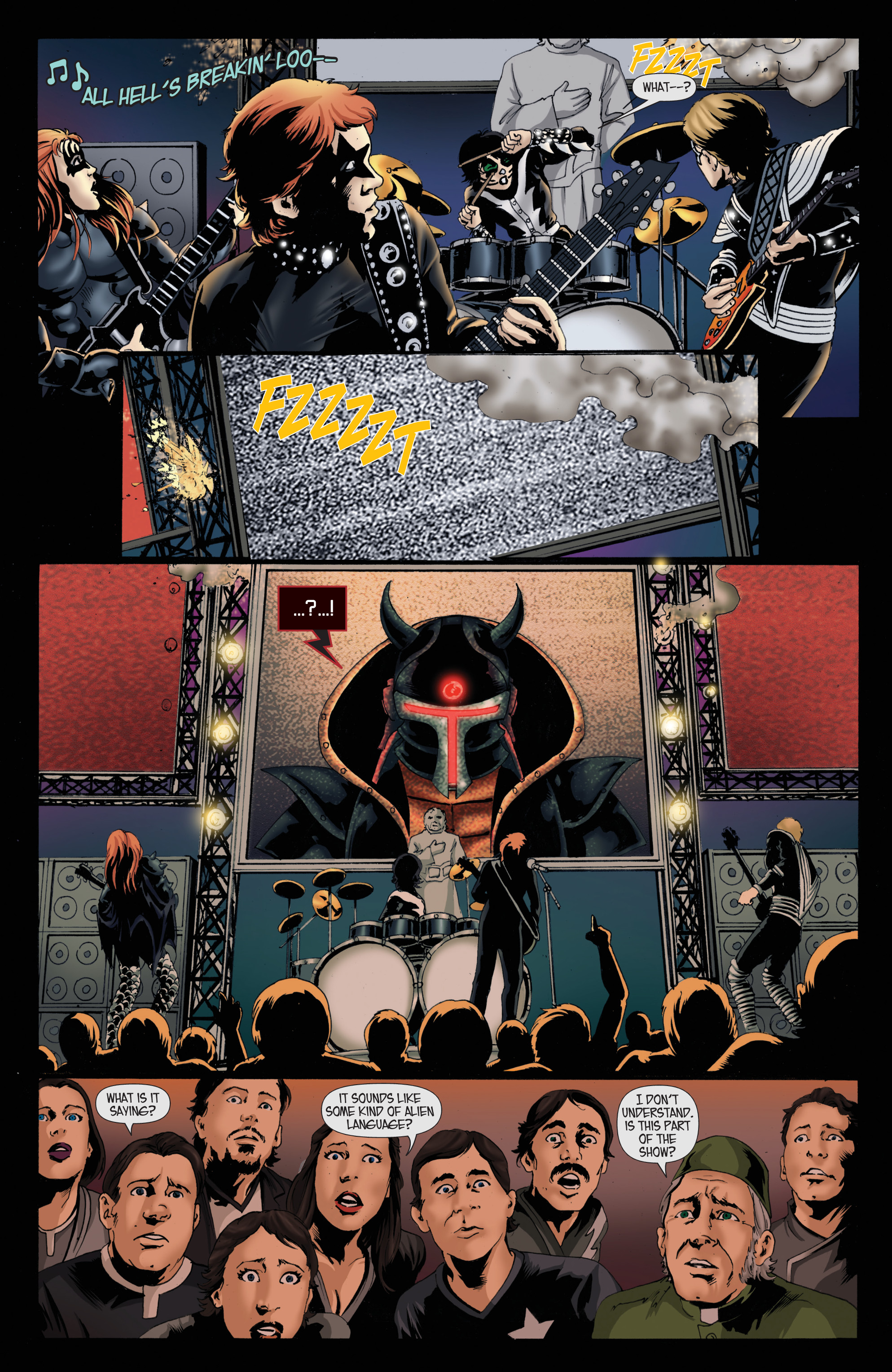 Read online KISS comic -  Issue #8 - 6