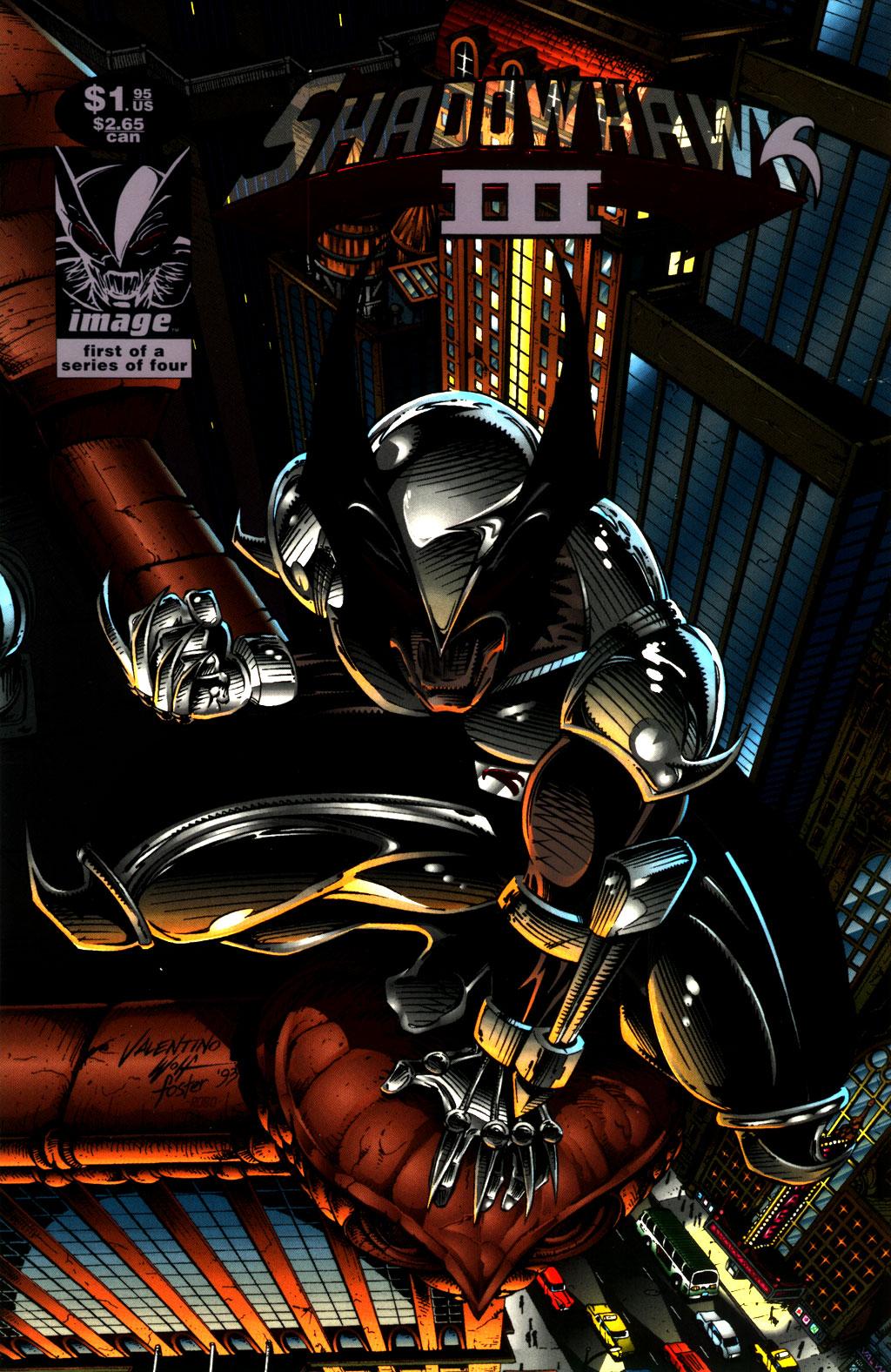 Read online ShadowHawk comic -  Issue #8 - 1