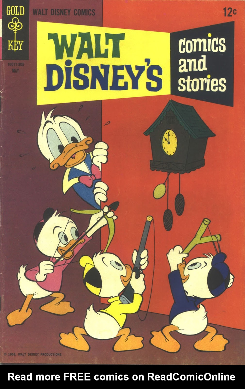 Walt Disney's Comics and Stories issue 332 - Page 1