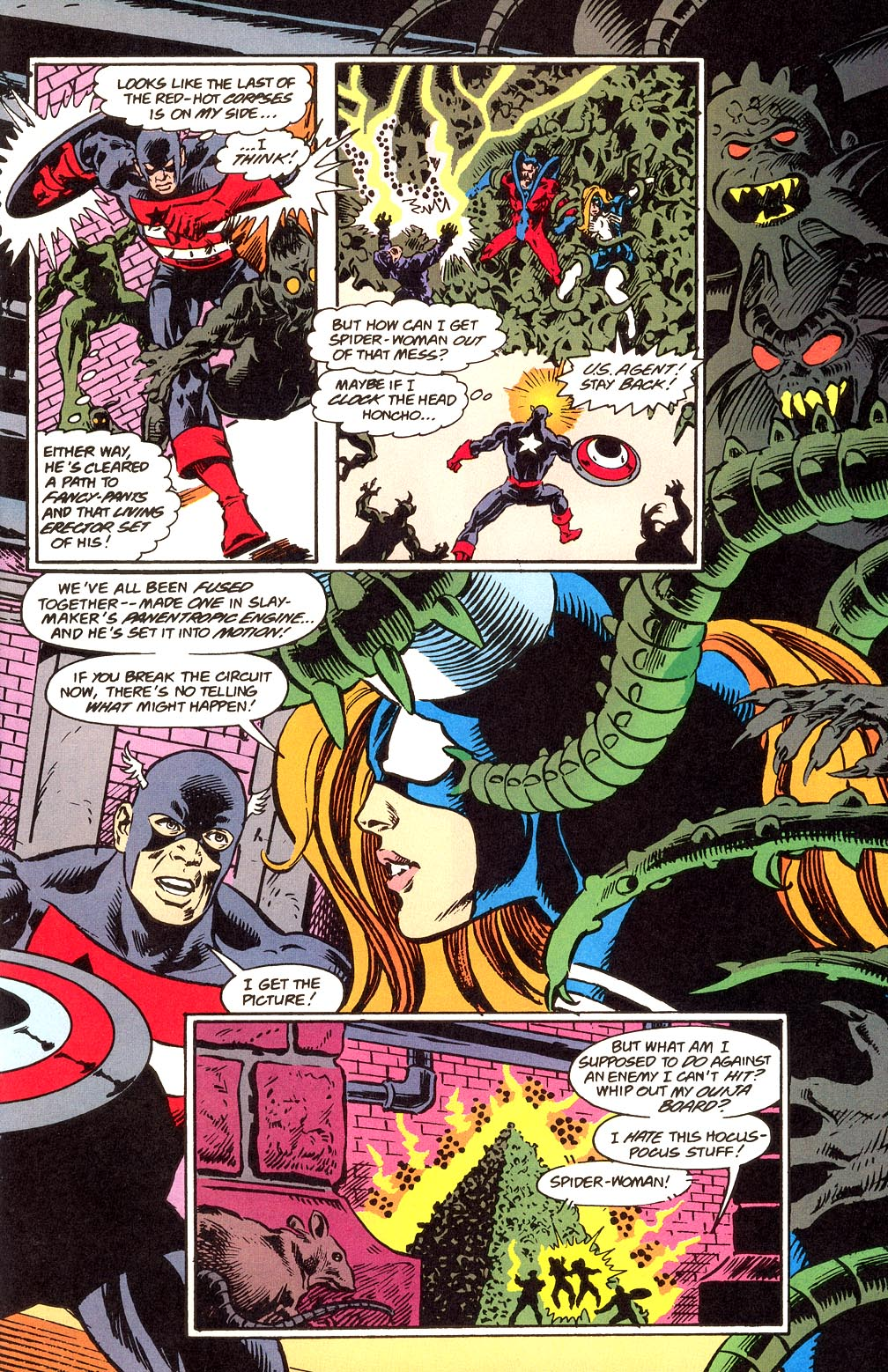 Read online Secret Defenders comic -  Issue #21 - 18