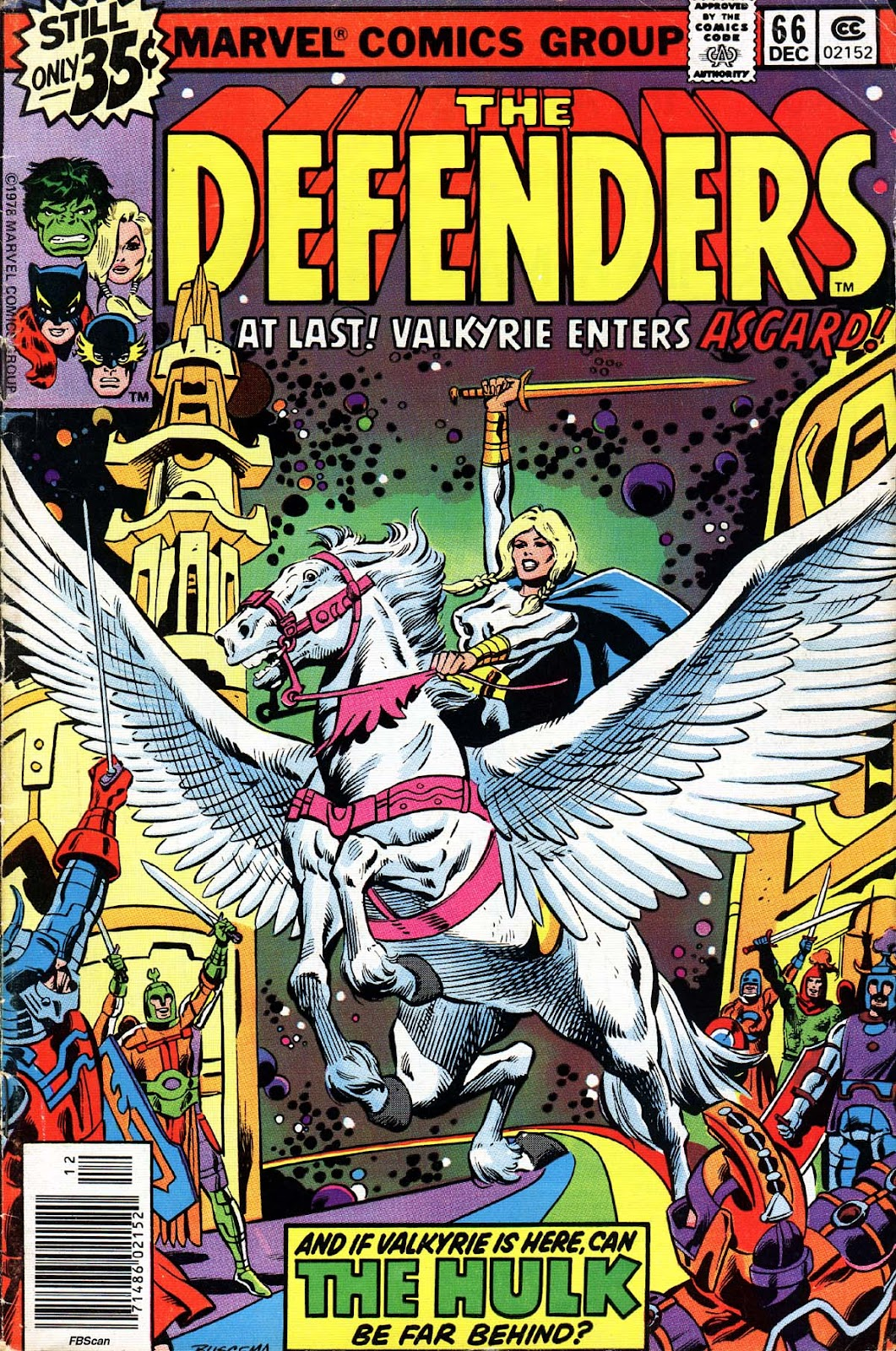 The Defenders (1972) issue 66 - Page 1