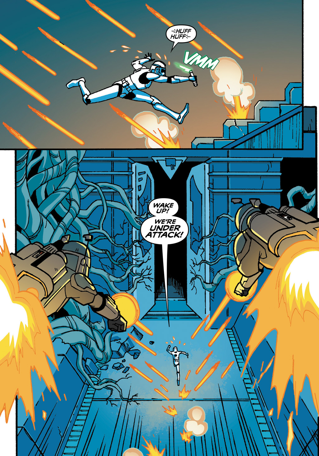 Read online Star Wars: The Clone Wars - Defenders of the Lost Temple comic -  Issue # Full - 52