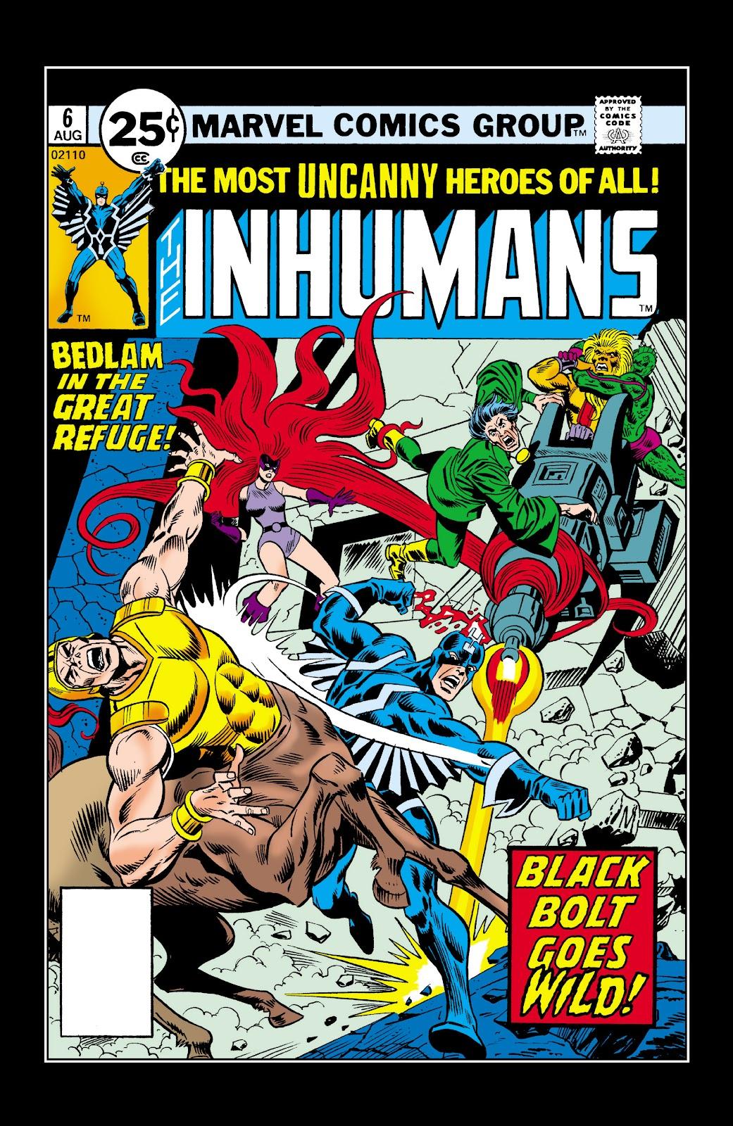 Read online Marvel Masterworks: The Inhumans comic -  Issue # TPB 2 (Part 1) - 100