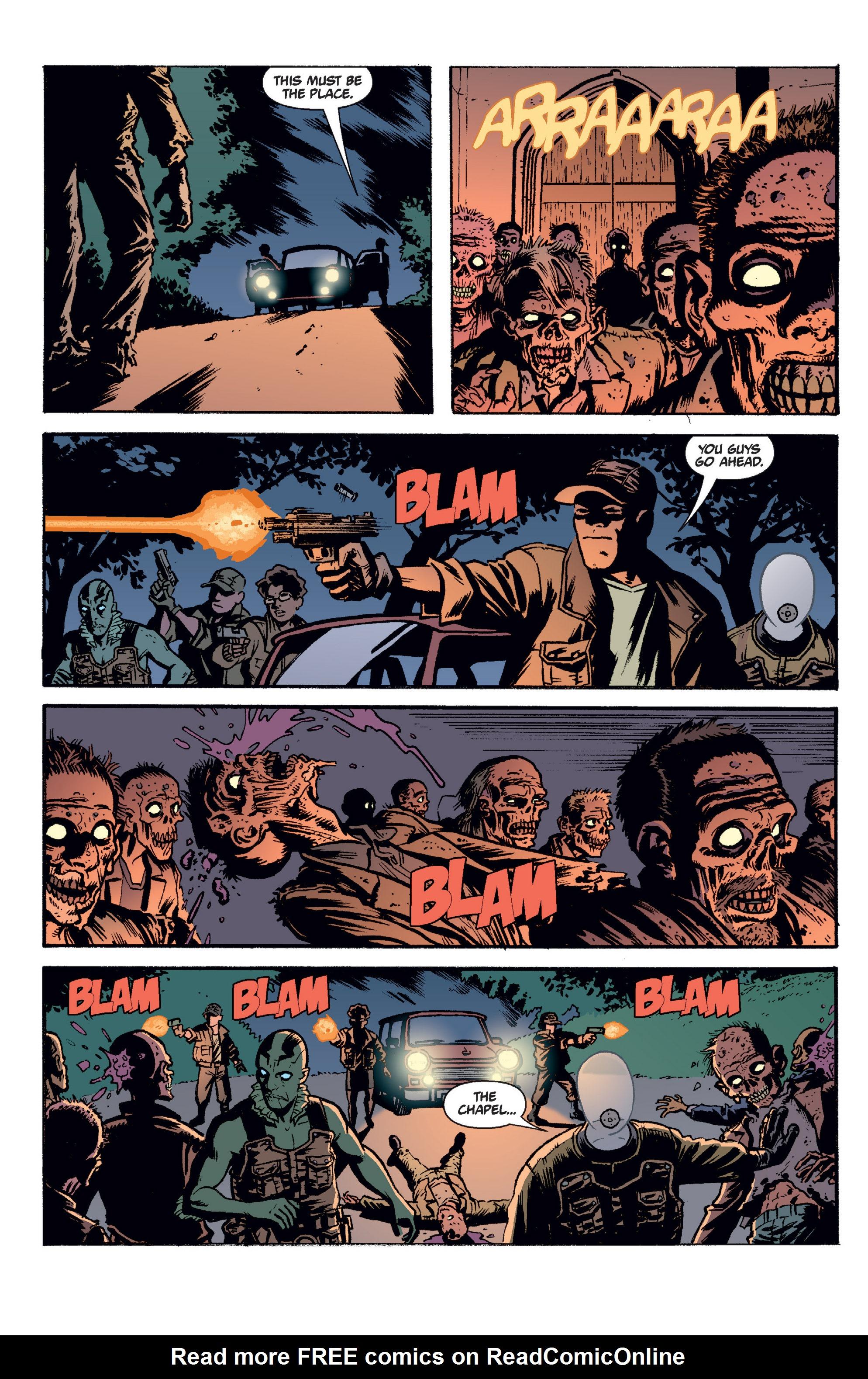 Read online B.P.R.D. (2003) comic -  Issue # TPB 2 - 111