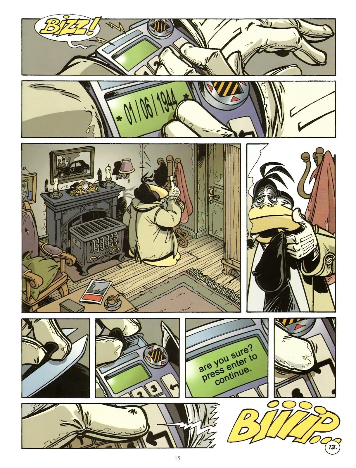 Une enquête de l'inspecteur Canardo issue 11 - Page 16
