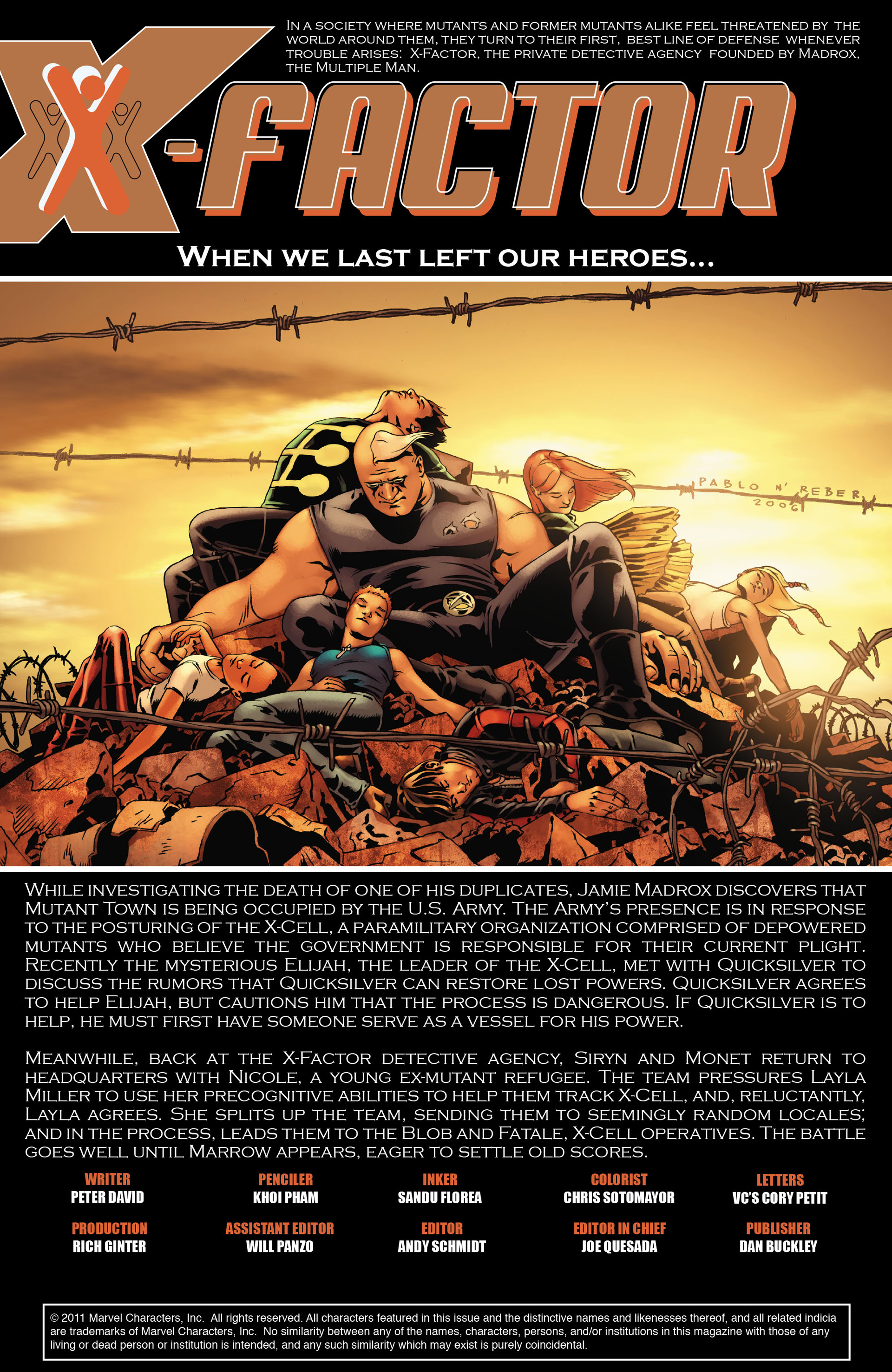 Read online X-Factor (2006) comic -  Issue #19 - 2