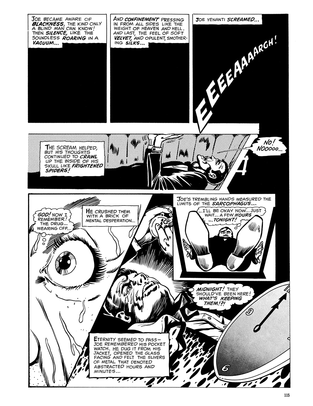 Read online Eerie Archives comic -  Issue # TPB 5 - 116