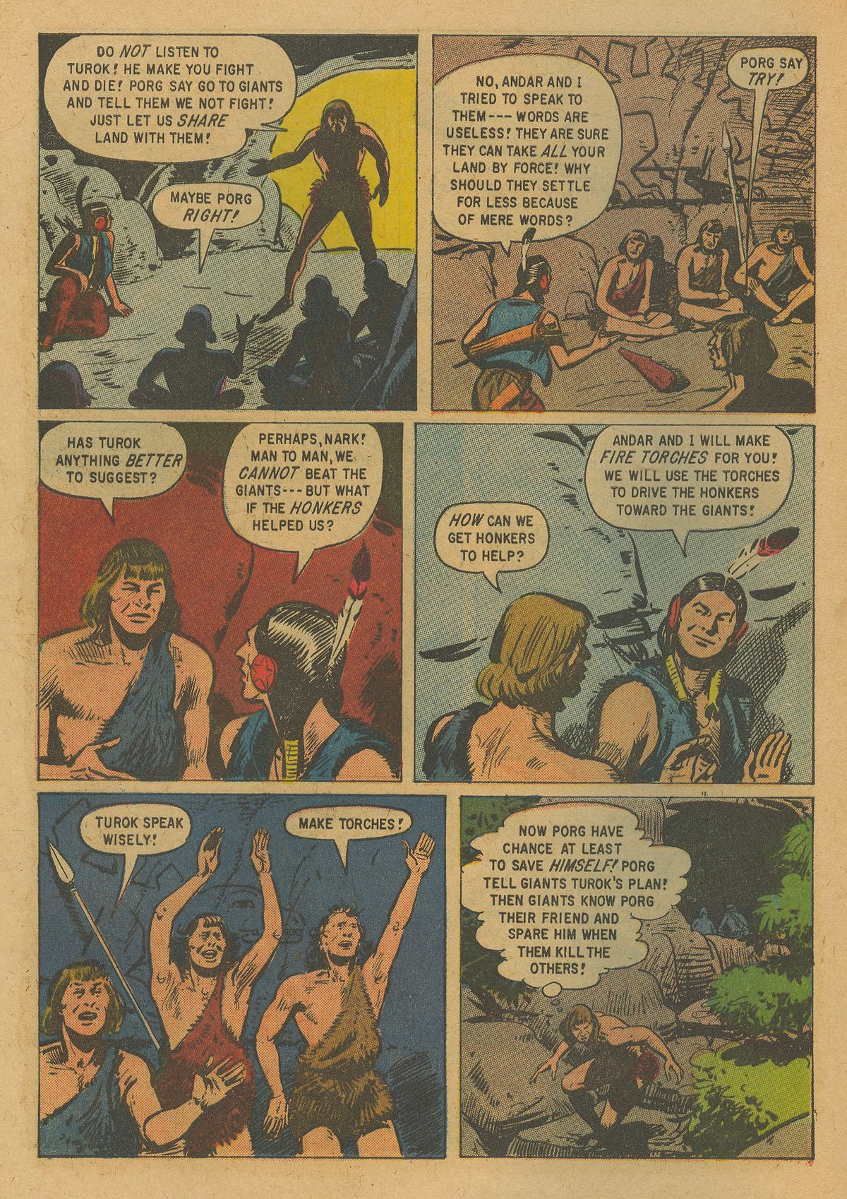 Read online Turok, Son of Stone comic -  Issue #19 - 28