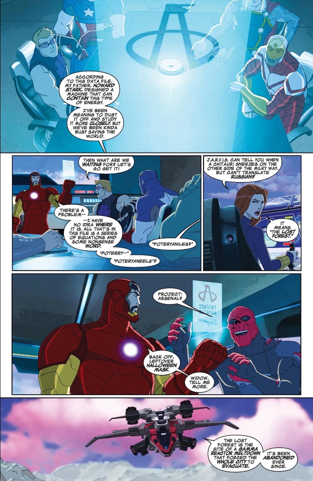 Read online Marvel Universe Avengers Assemble Season 2 comic -  Issue #1 - 11