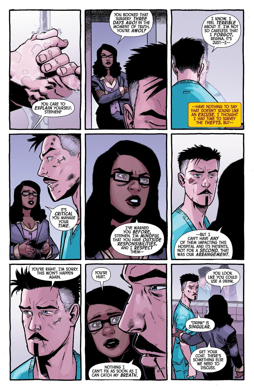 Read online Dr. Strange comic -  Issue #4 - 8