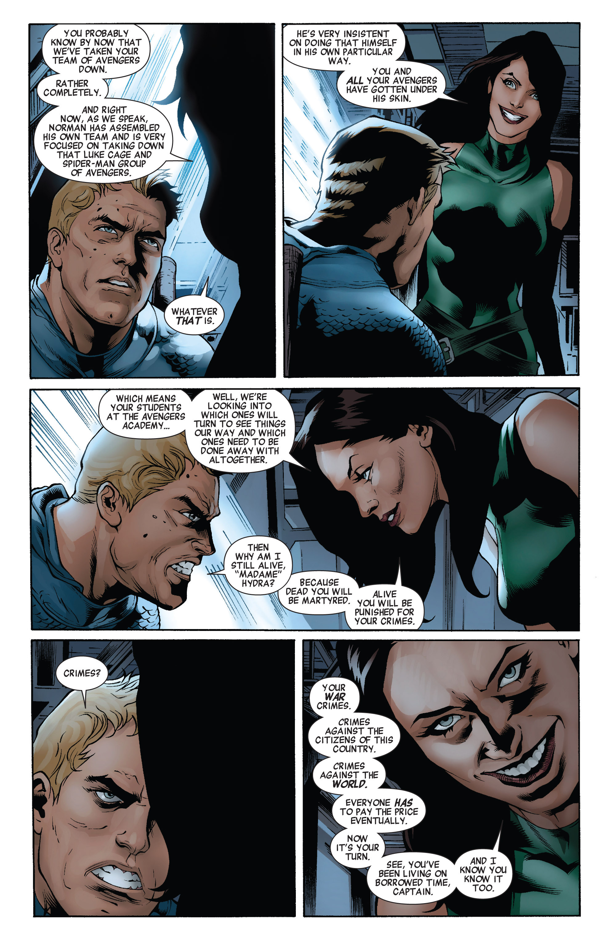 Read online Avengers (2010) comic -  Issue #22 - 6