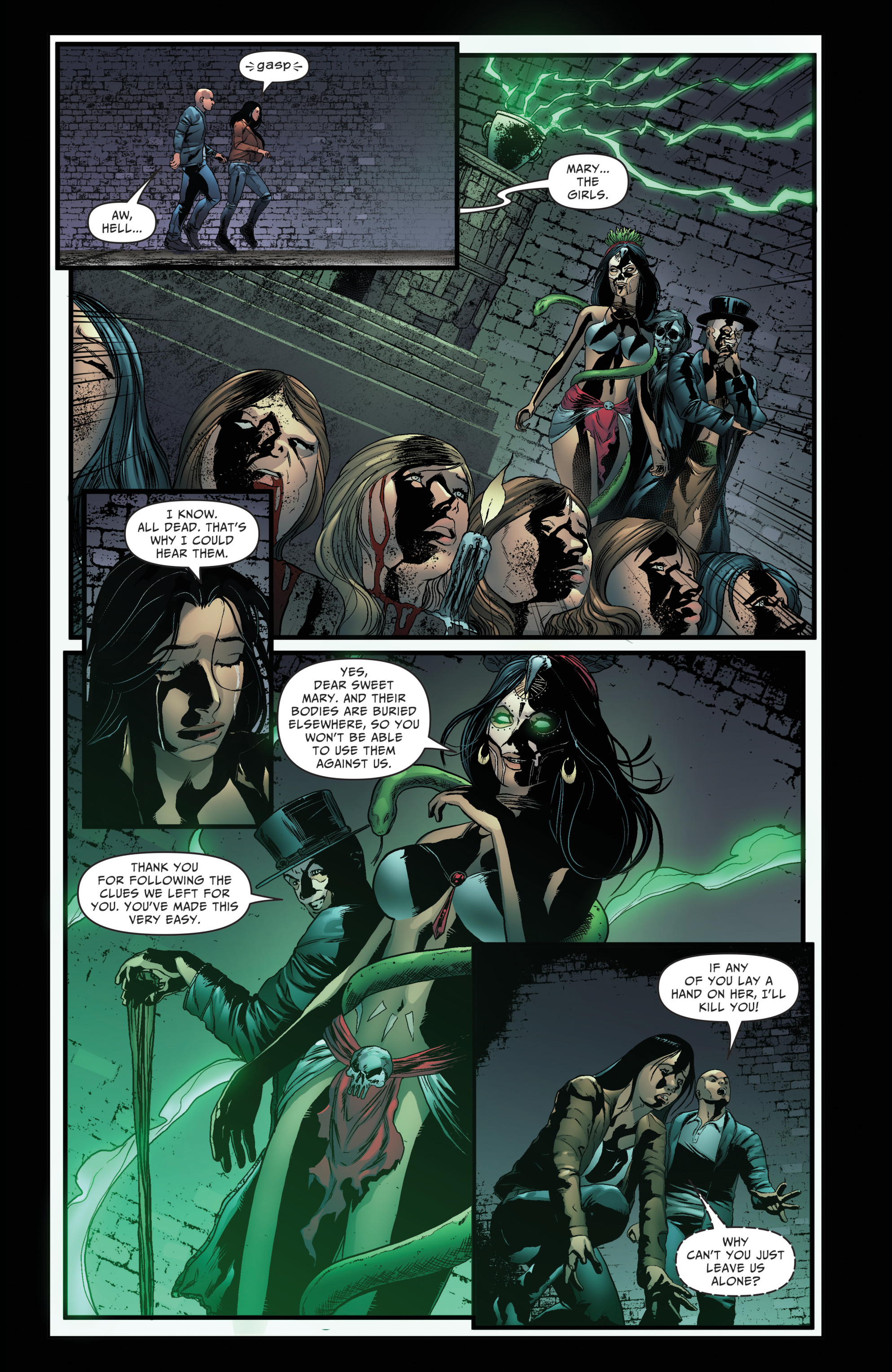 Read online Grimm Fairy Tales: Day of the Dead comic -  Issue #4 - 23