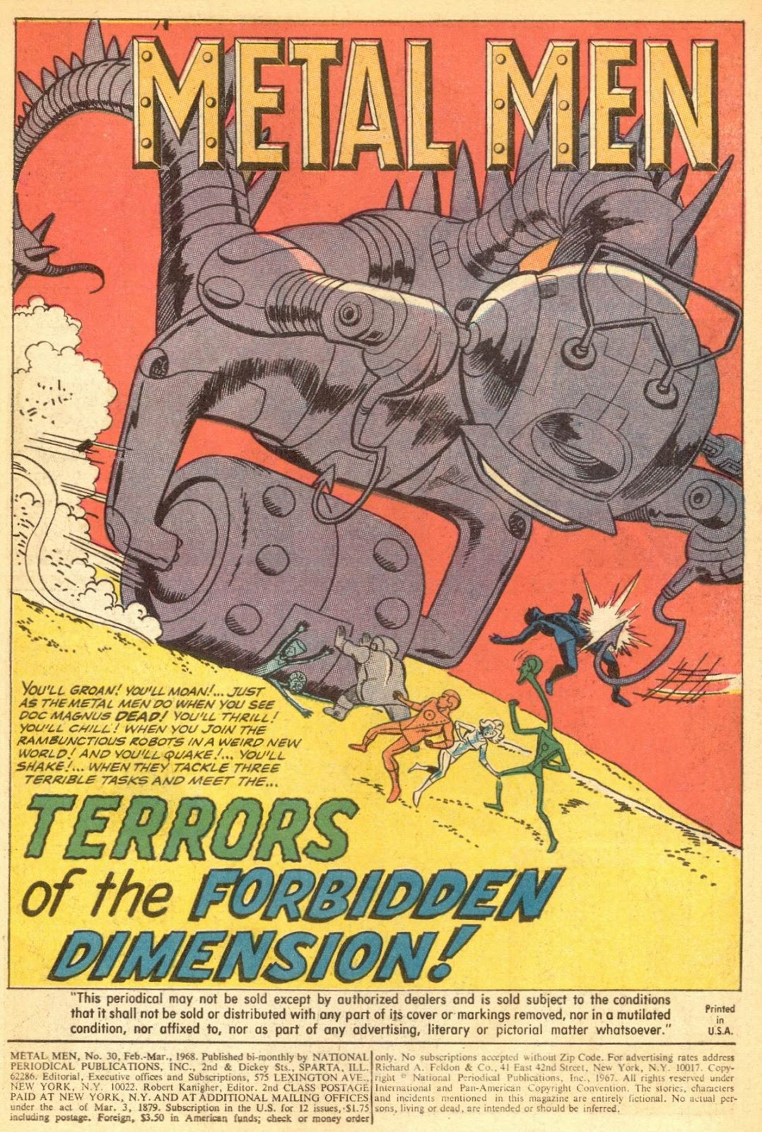Metal Men (1963) issue 30 - Page 3