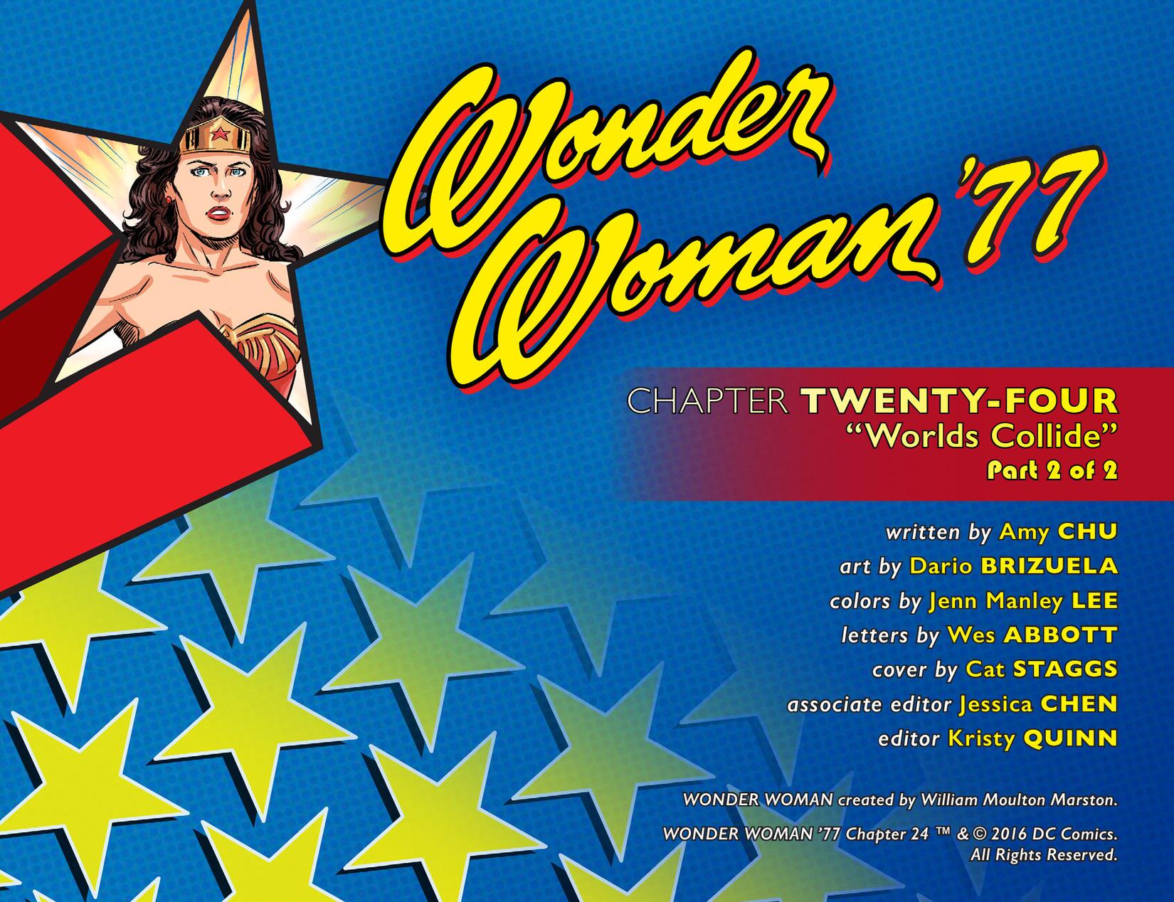 Read online Wonder Woman '77 [I] comic -  Issue #24 - 2