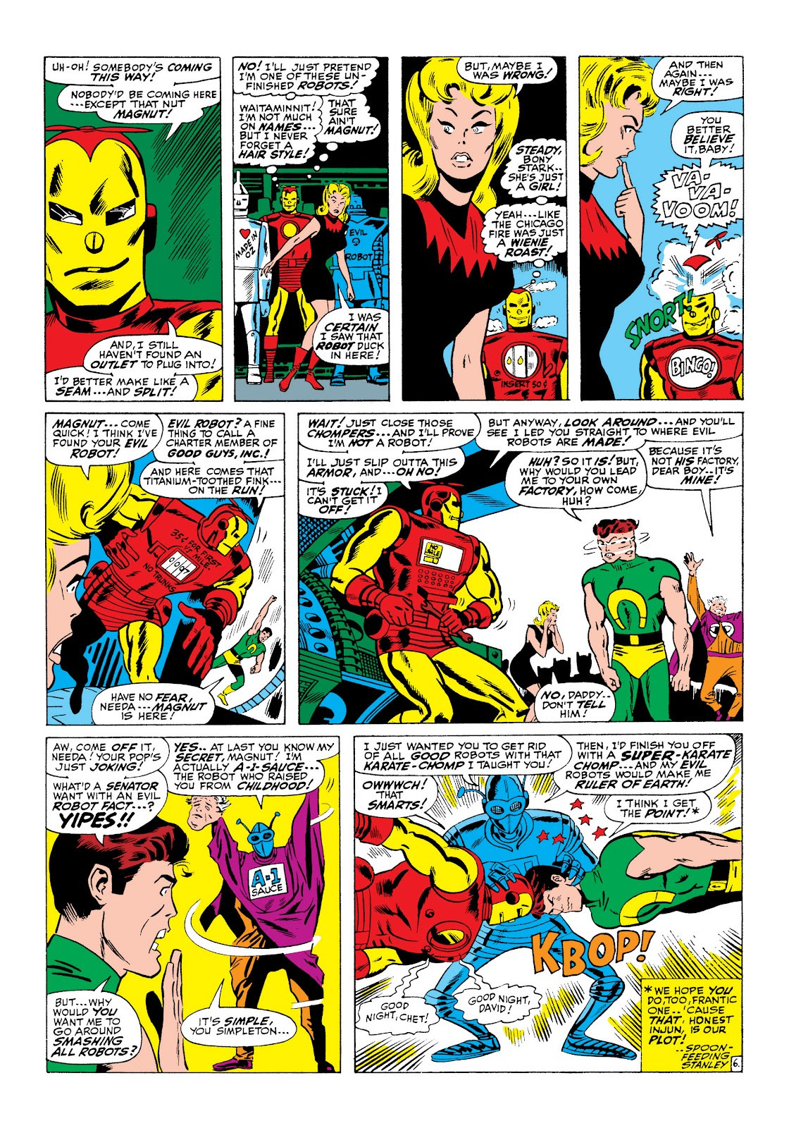 Read online Marvel Masterworks: The Invincible Iron Man comic -  Issue # TPB 5 (Part 3) - 65