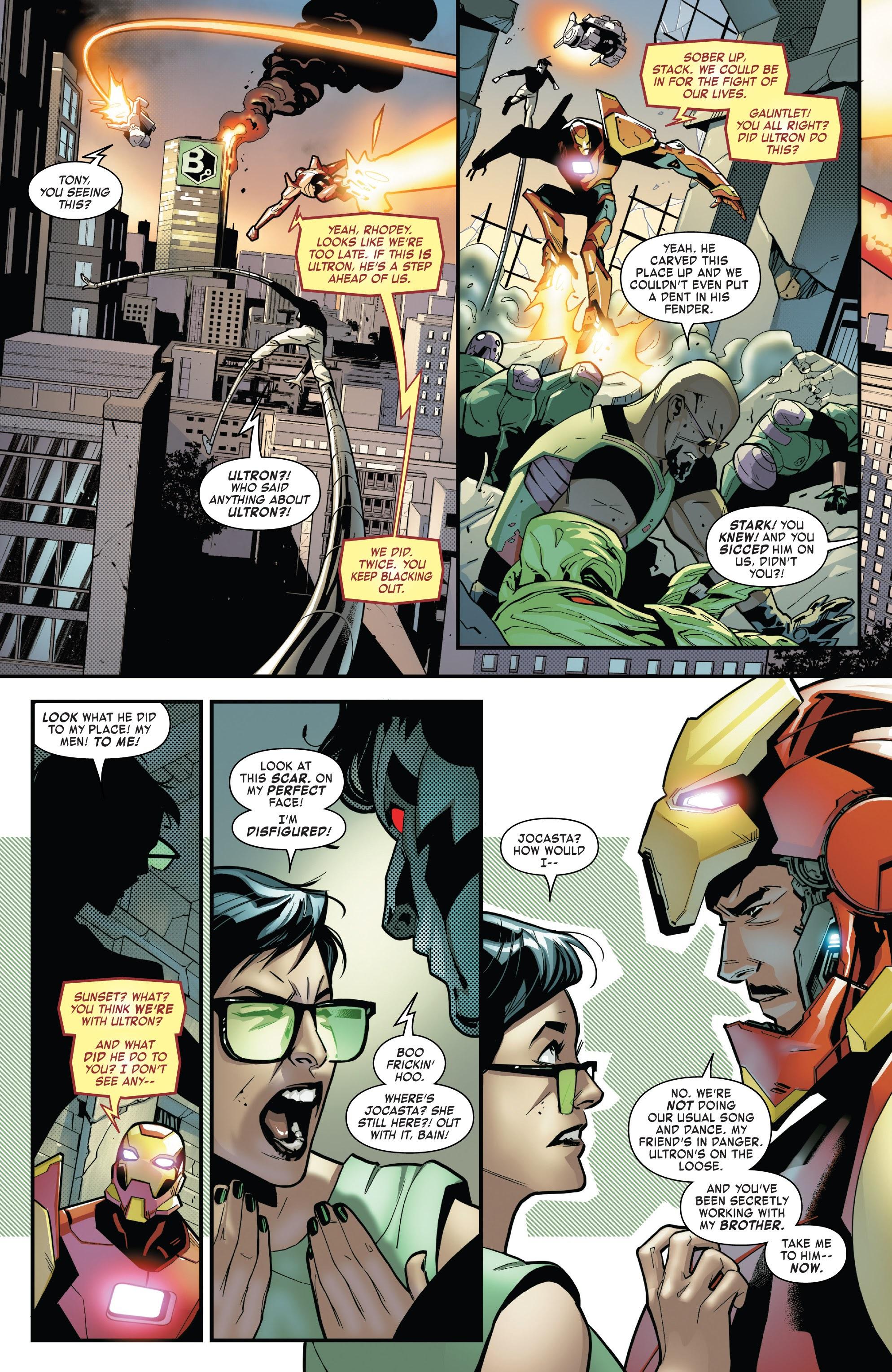 Read online Tony Stark: Iron Man comic -  Issue #16 - 11