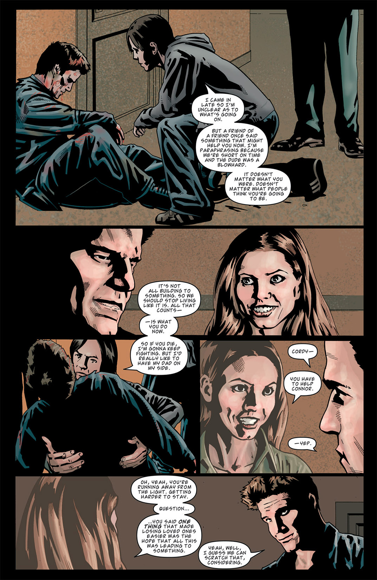 Read online Angel: After The Fall comic -  Issue #13 - 19