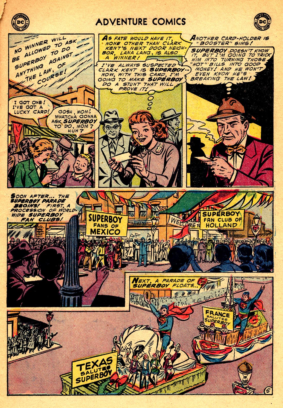 Read online Adventure Comics (1938) comic -  Issue #209 - 7