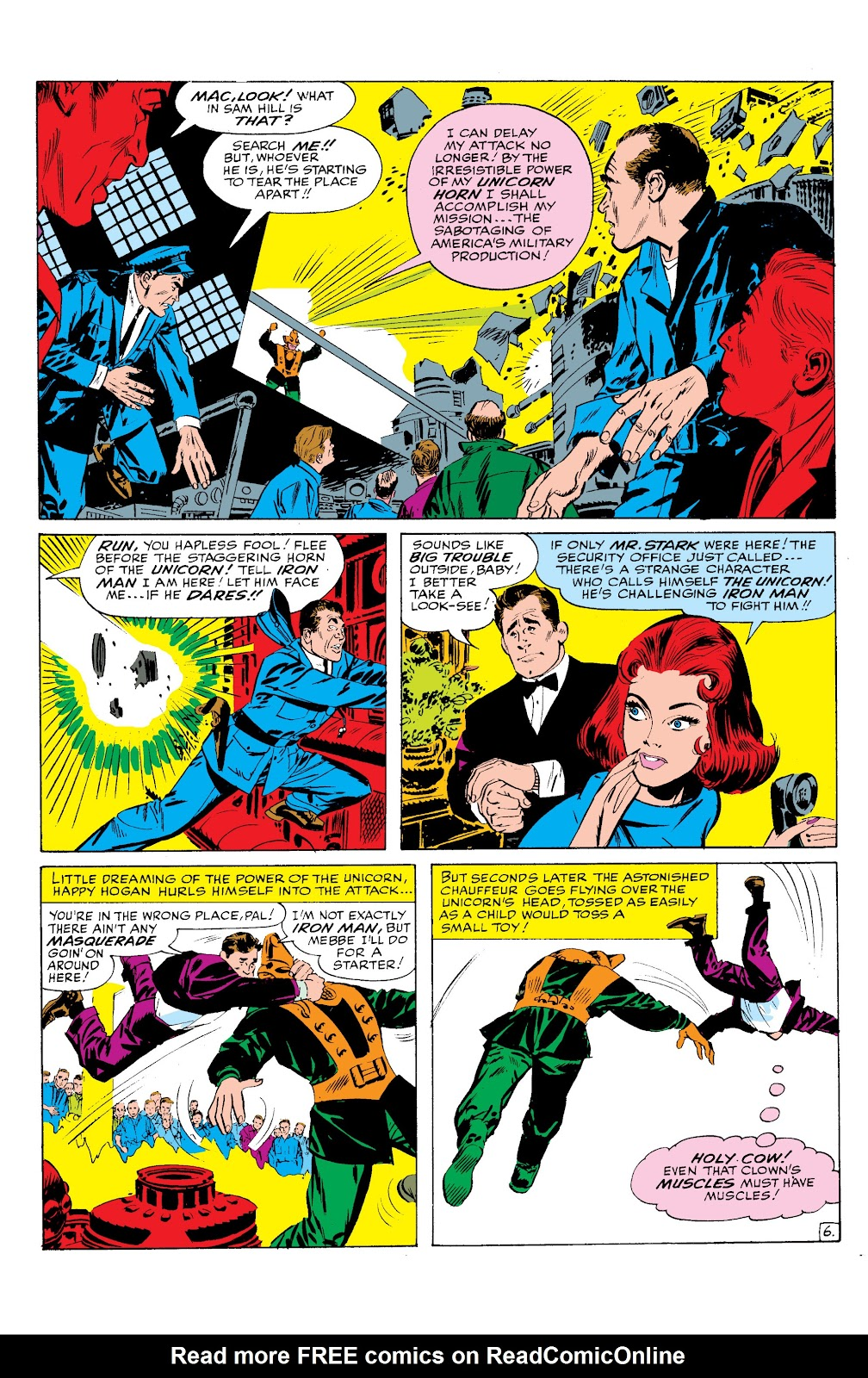 Read online Marvel Masterworks: The Invincible Iron Man comic -  Issue # TPB 2 (Part 1) - 87