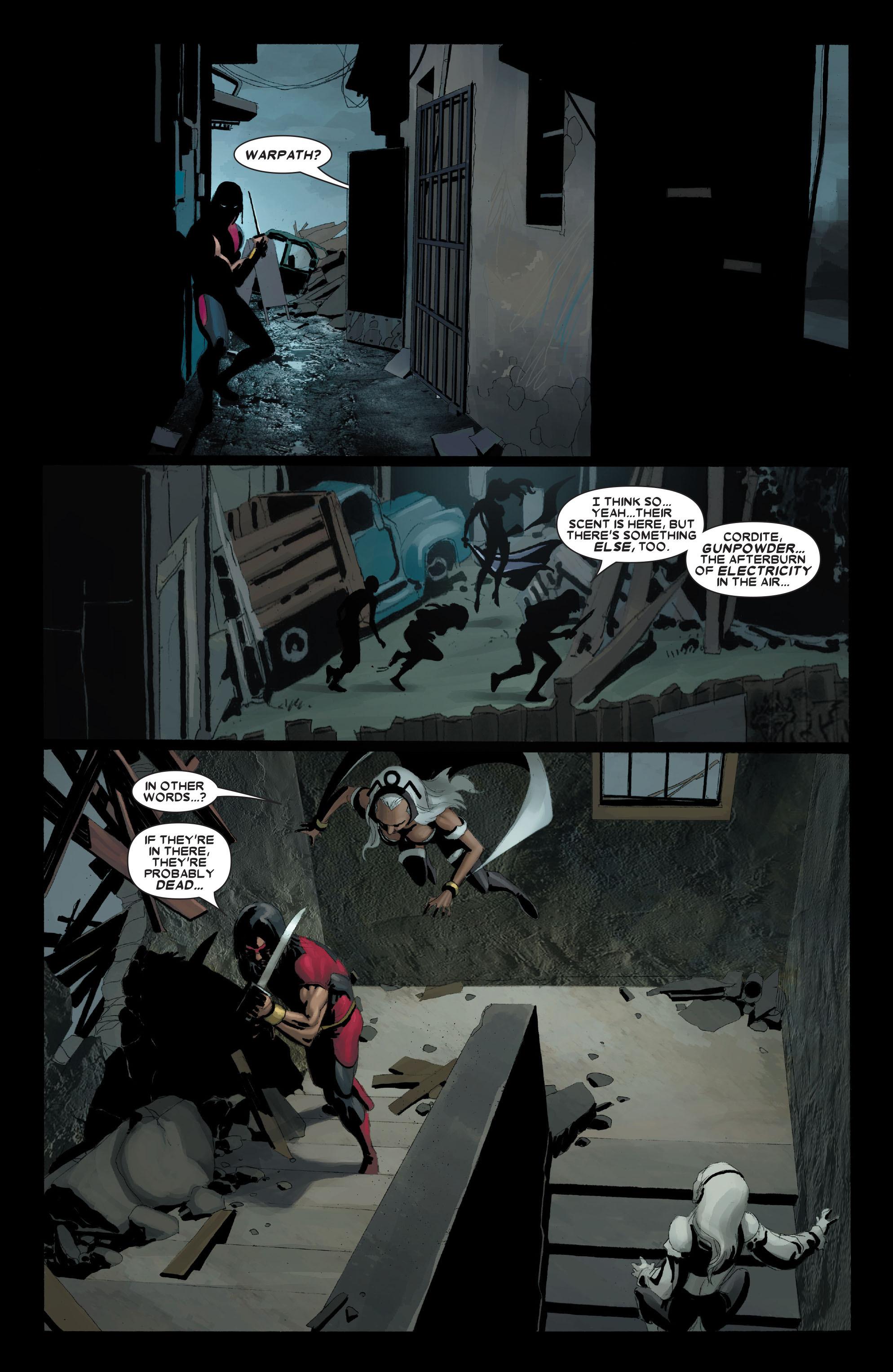 Read online Uncanny X-Men (1963) comic -  Issue #489 - 17