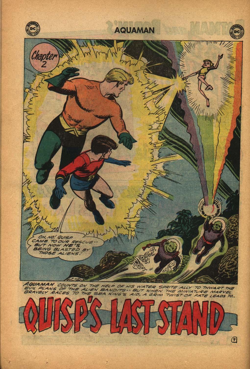 Read online Aquaman (1962) comic -  Issue #4 - 14