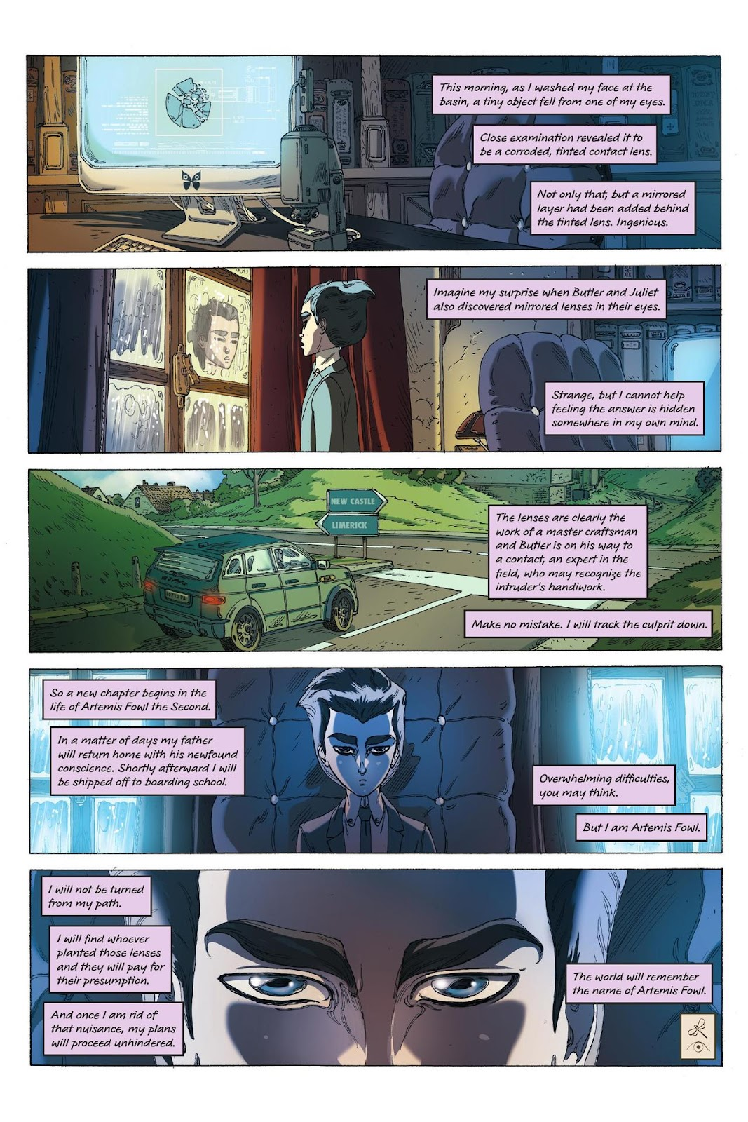 Artemis Fowl: The Eternity Code issue TPB - Page 112
