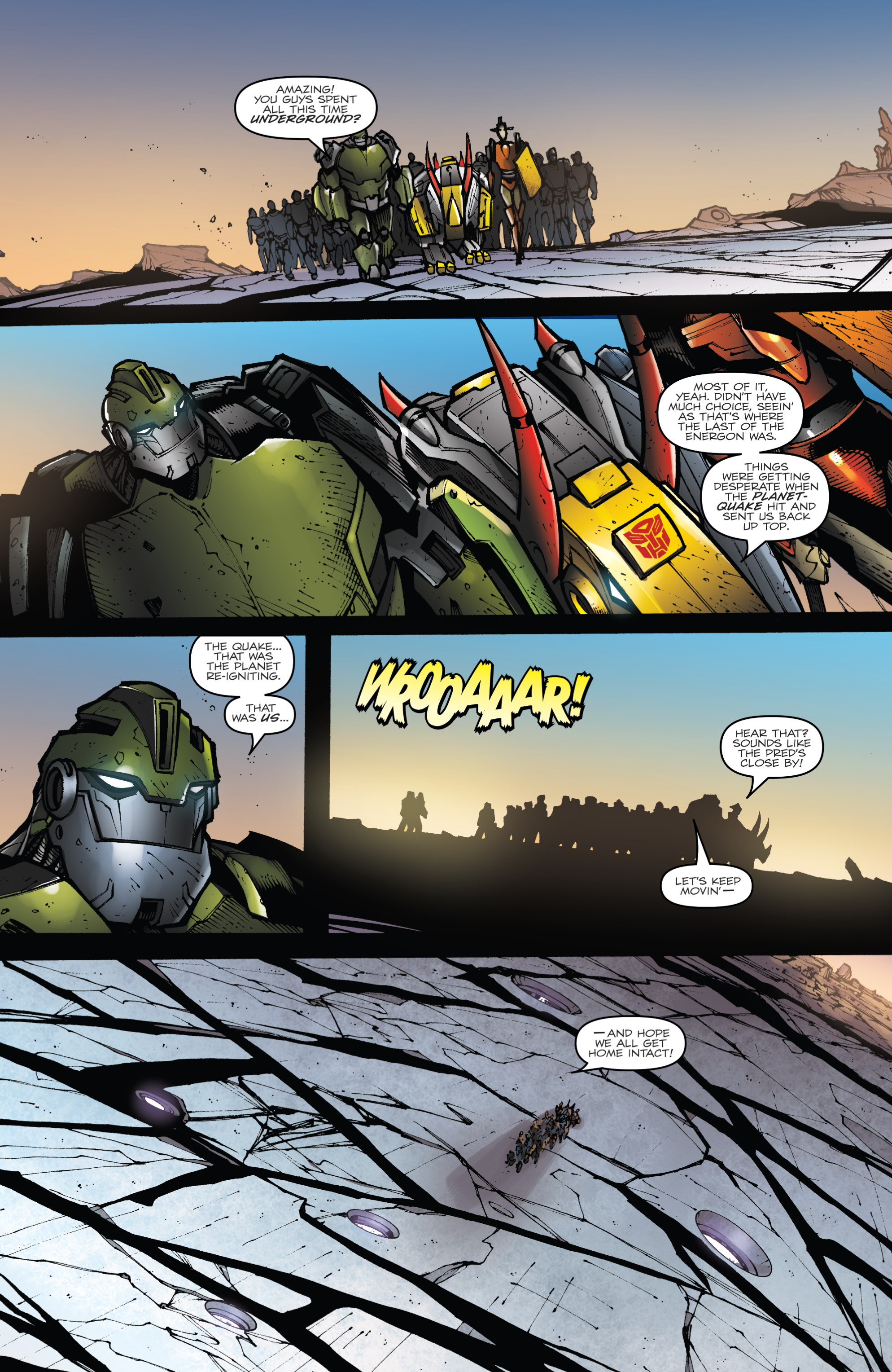 Read online Transformers Prime: Beast Hunters comic -  Issue #8 - 12