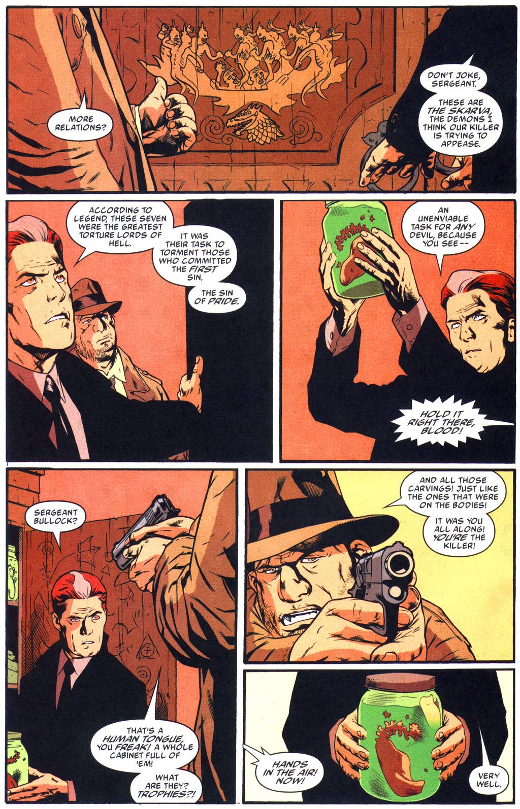 Read online Arkham Asylum: Living Hell comic -  Issue #5 - 15