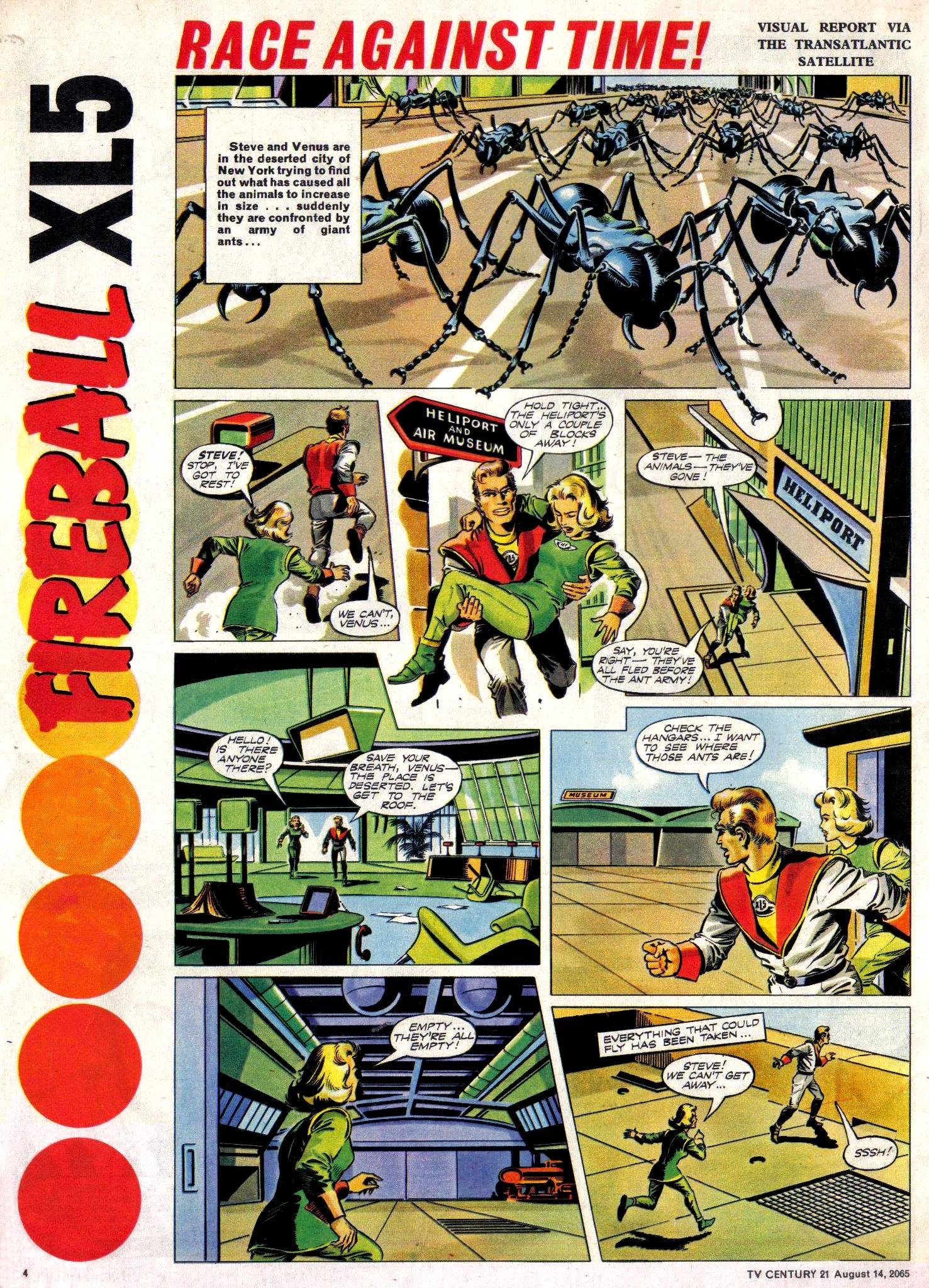 Read online TV Century 21 (TV 21) comic -  Issue #30 - 4