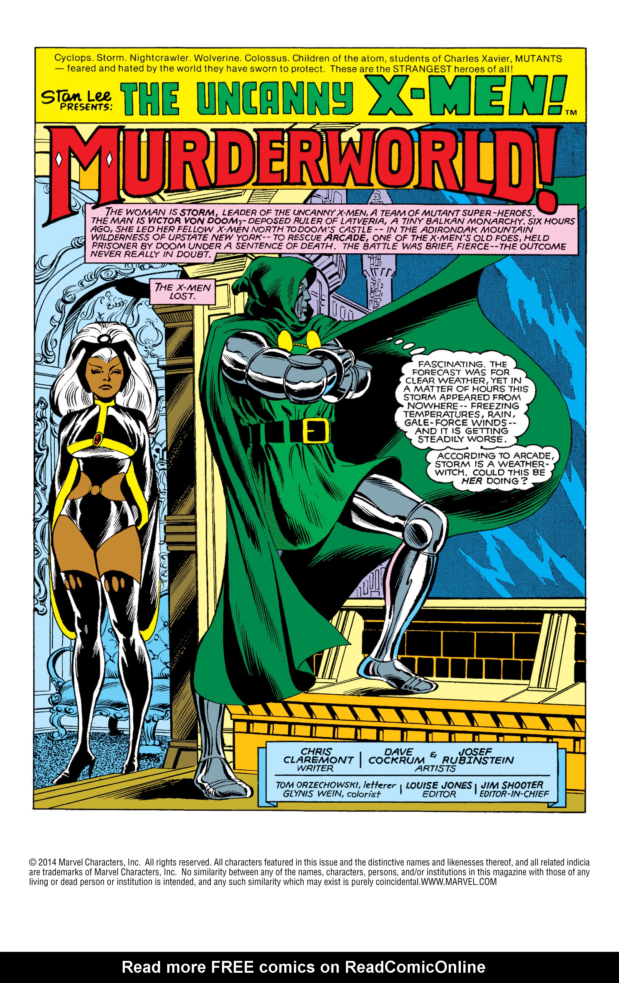 Read online Uncanny X-Men (1963) comic -  Issue #146 - 2