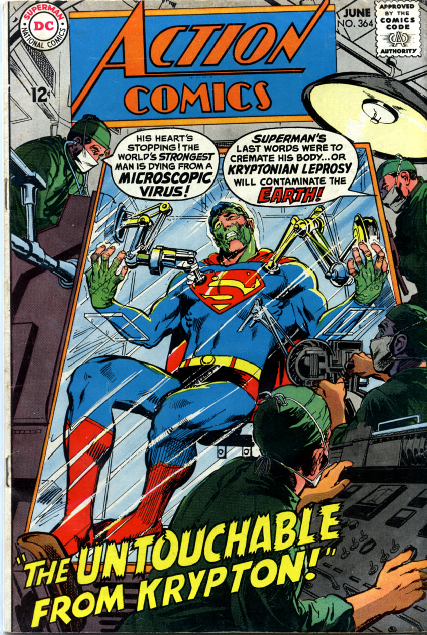 Read online Action Comics (1938) comic -  Issue #364 - 1