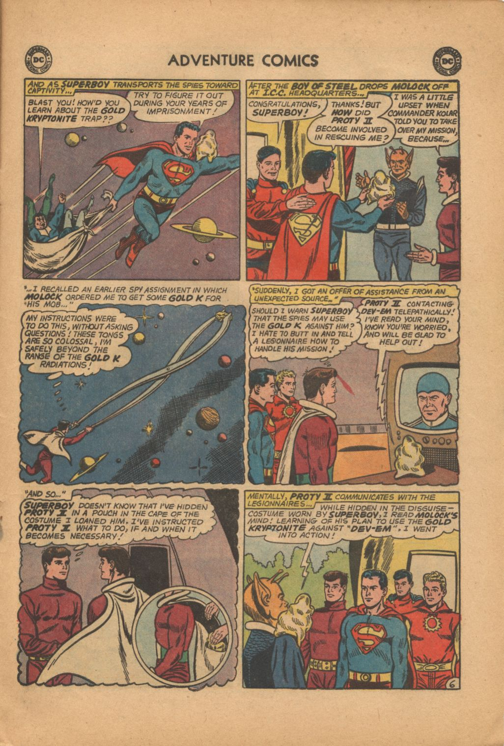 Read online Adventure Comics (1938) comic -  Issue #320 - 21