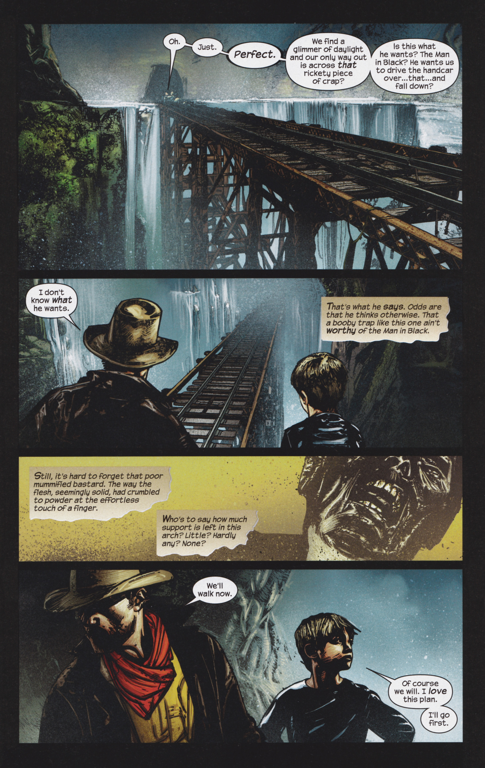 Read online Dark Tower: The Gunslinger - The Man in Black comic -  Issue #4 - 10