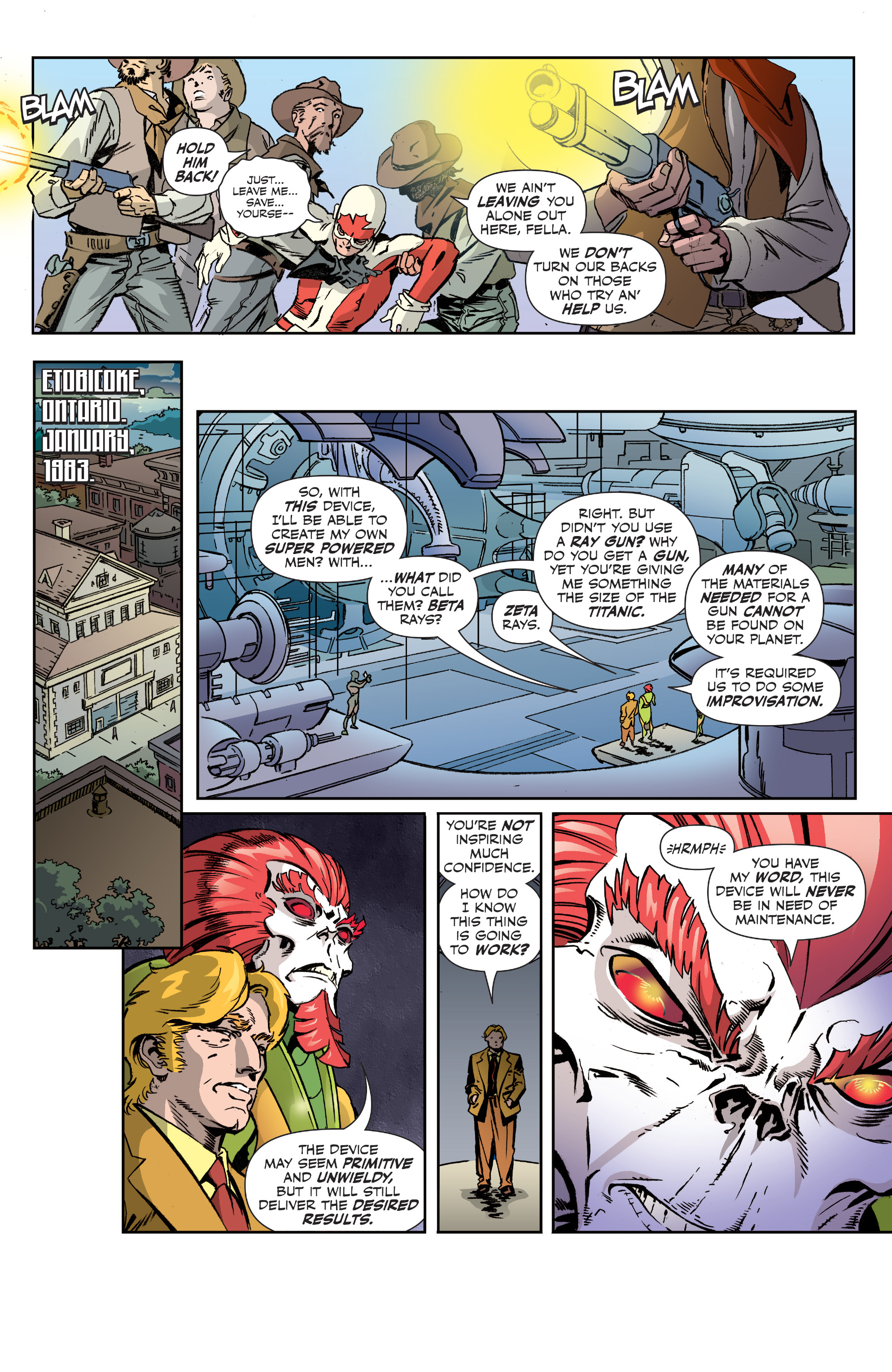 Read online All-New Classic Captain Canuck comic -  Issue #2 - 8