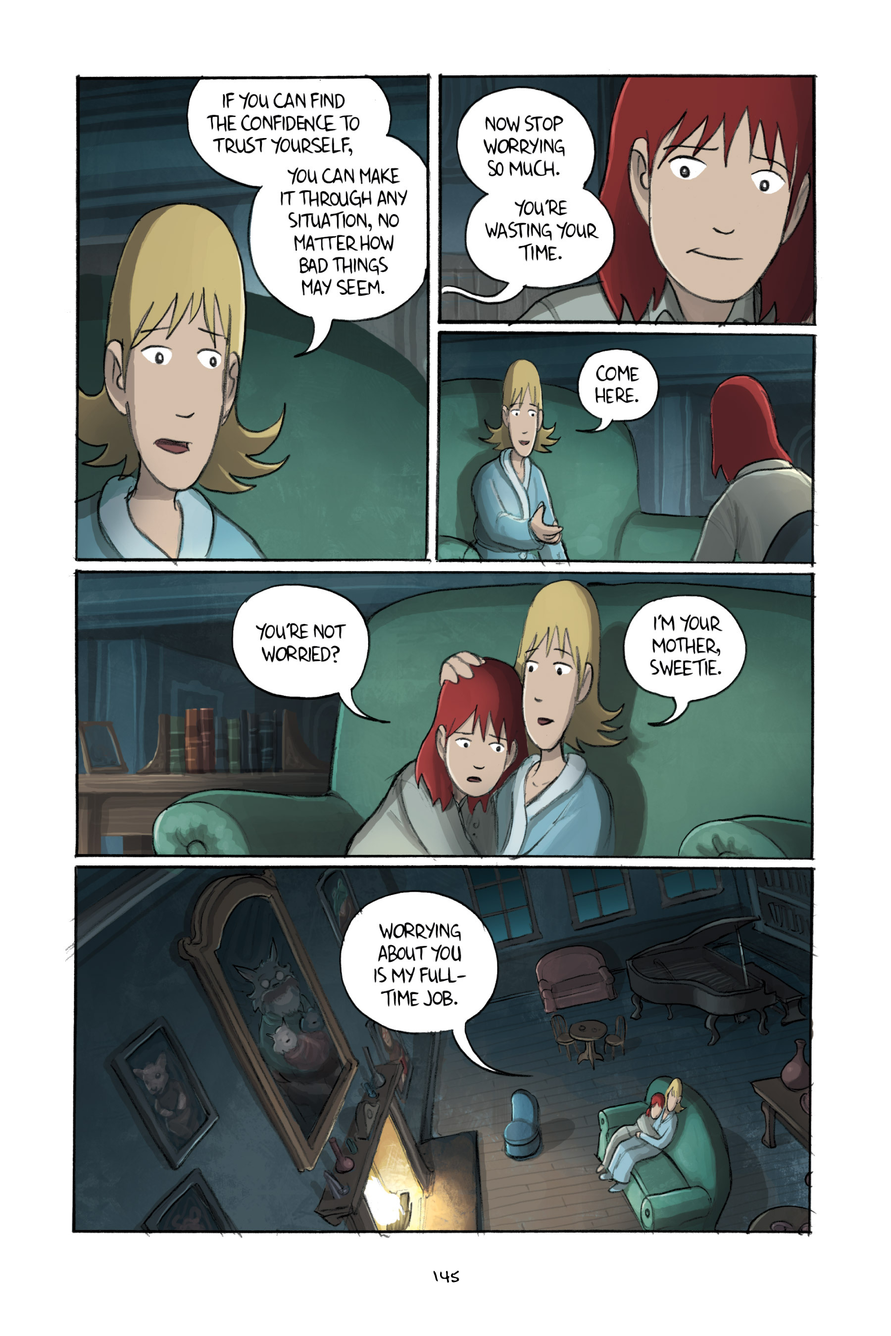Read online Amulet comic -  Issue #3 - 142