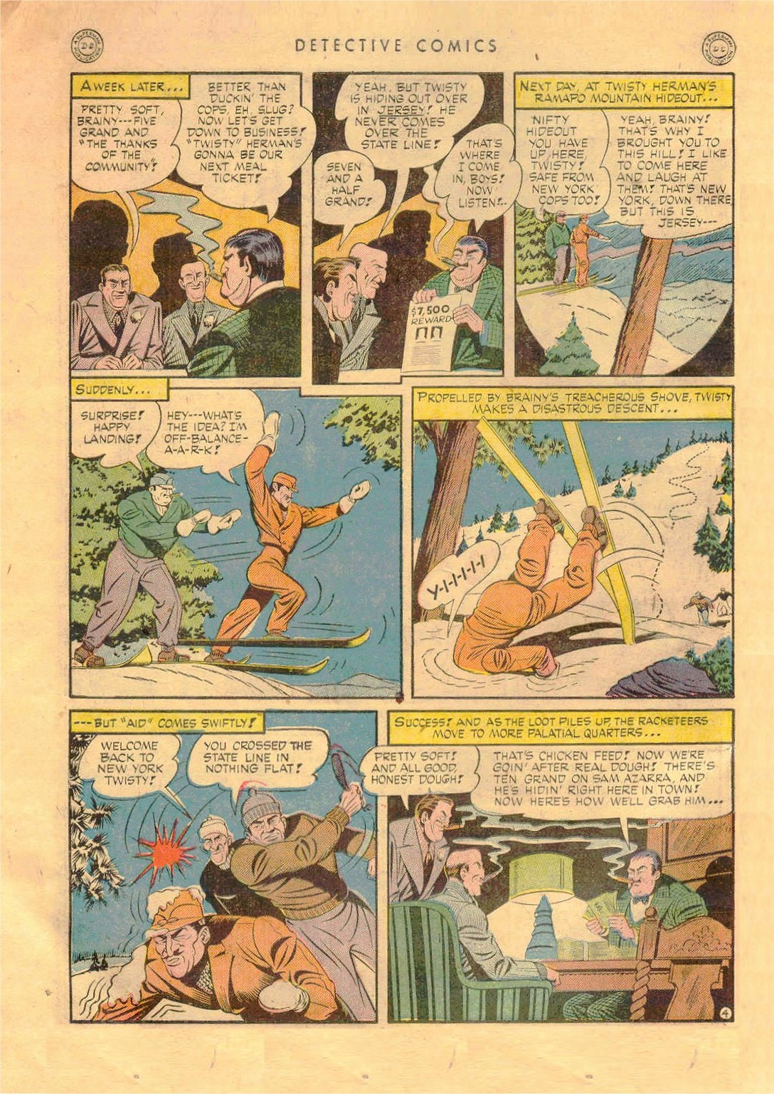 Read online Detective Comics (1937) comic -  Issue #92 - 6