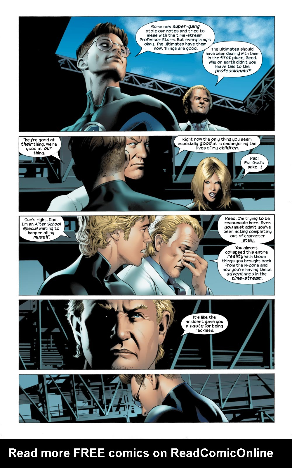 Read online Ultimate Fantastic Four (2004) comic -  Issue #21 - 12