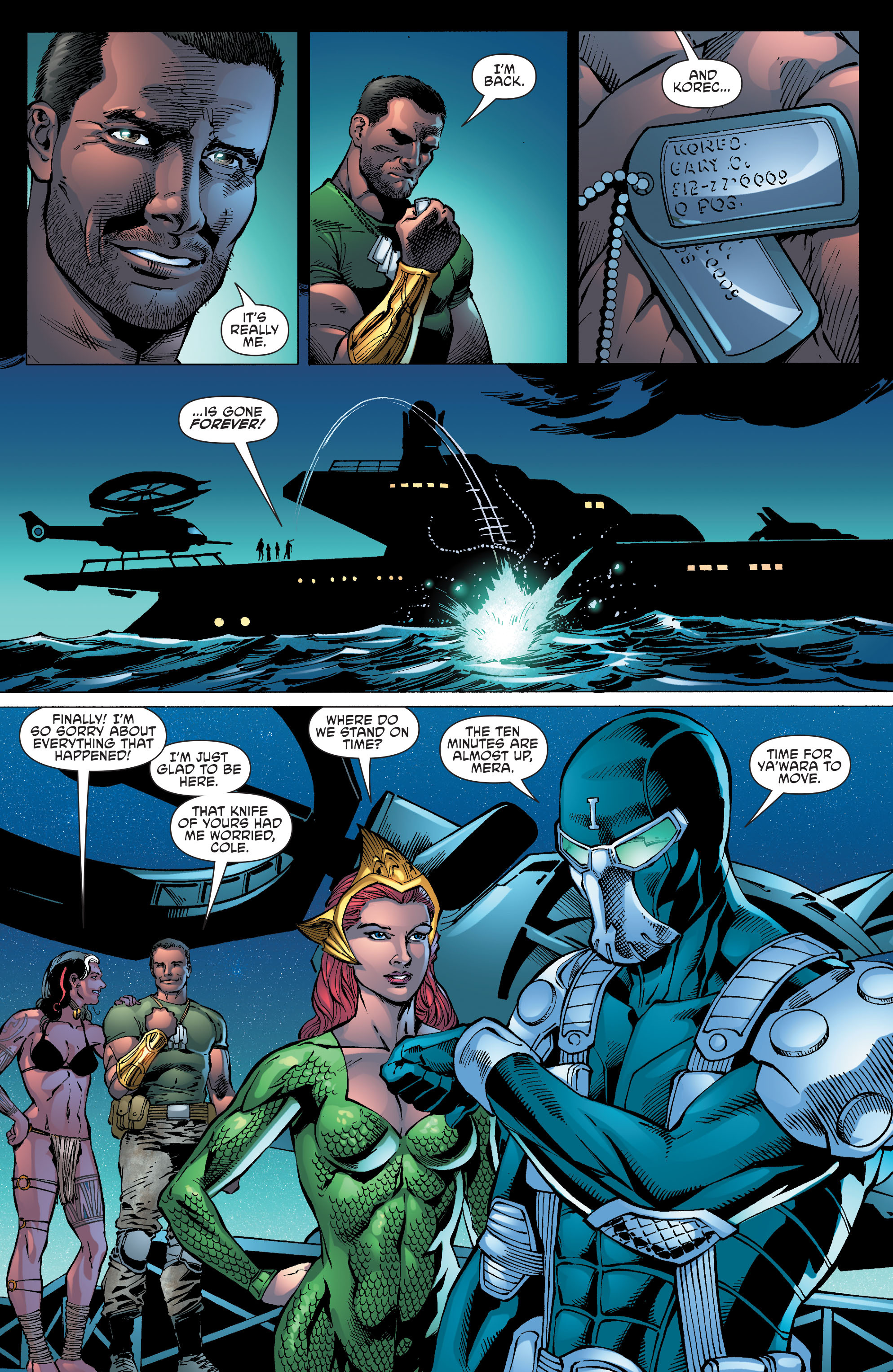 Read online Aquaman and the Others comic -  Issue #10 - 15