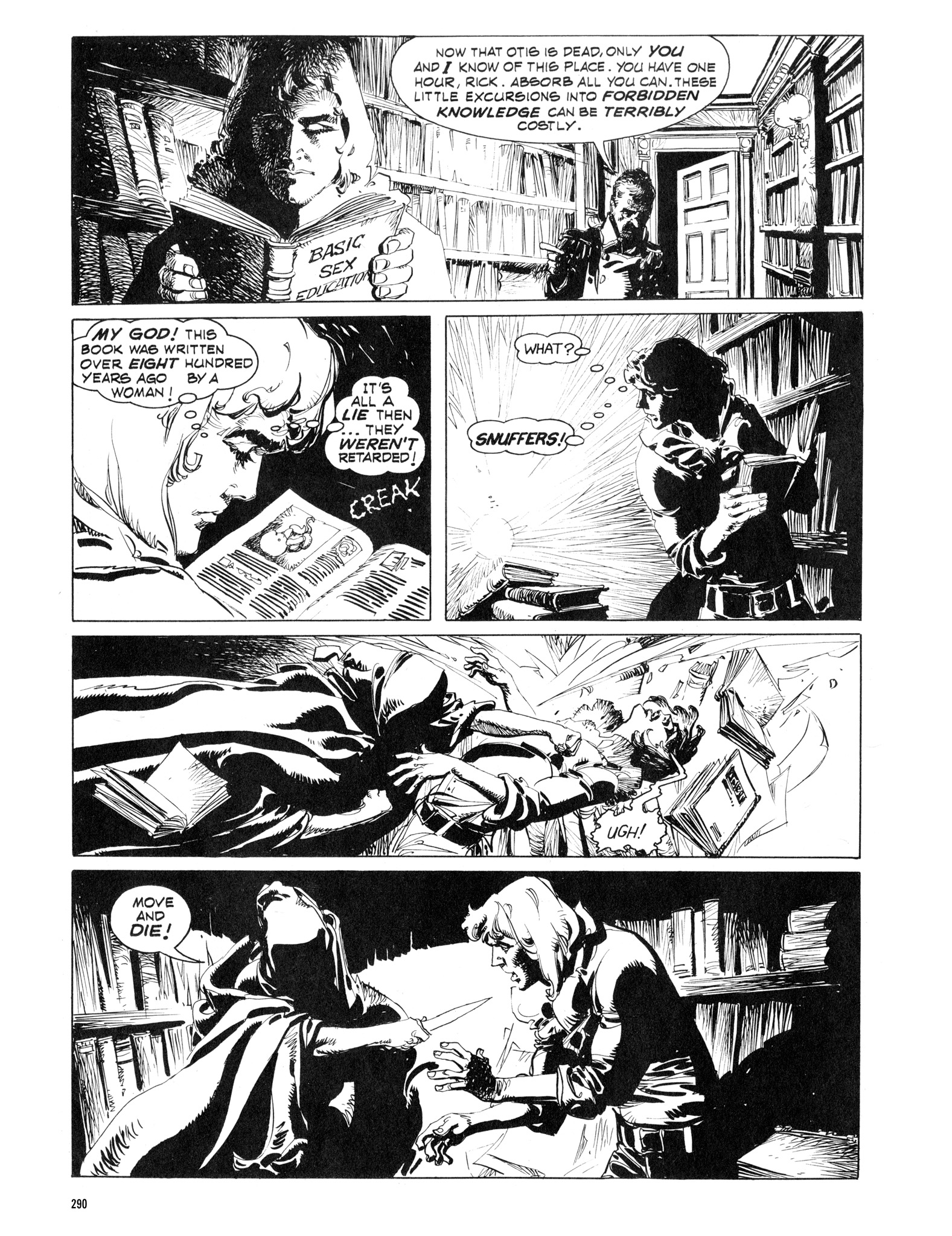 Read online Eerie Archives comic -  Issue # TPB 16 - 291