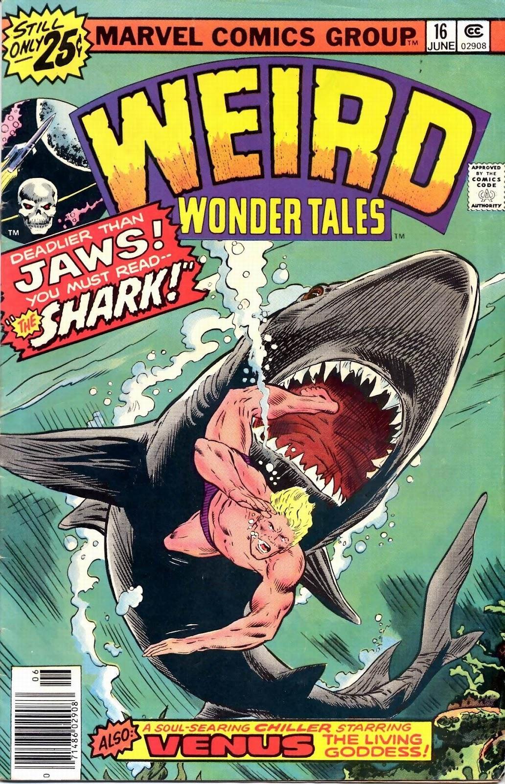 Weird Wonder Tales issue 16 - Page 1