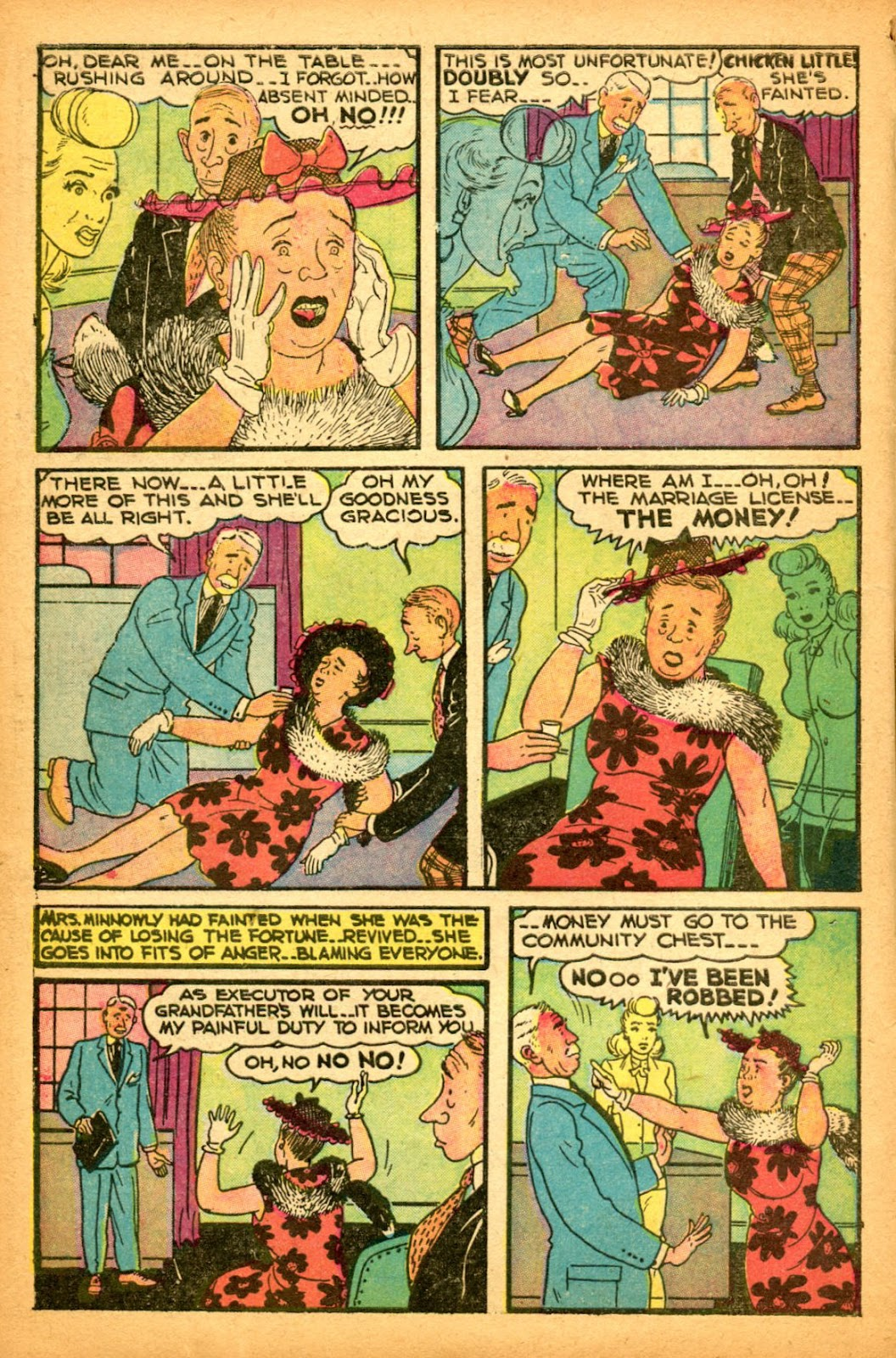 Read online Famous Funnies comic -  Issue #151 - 12