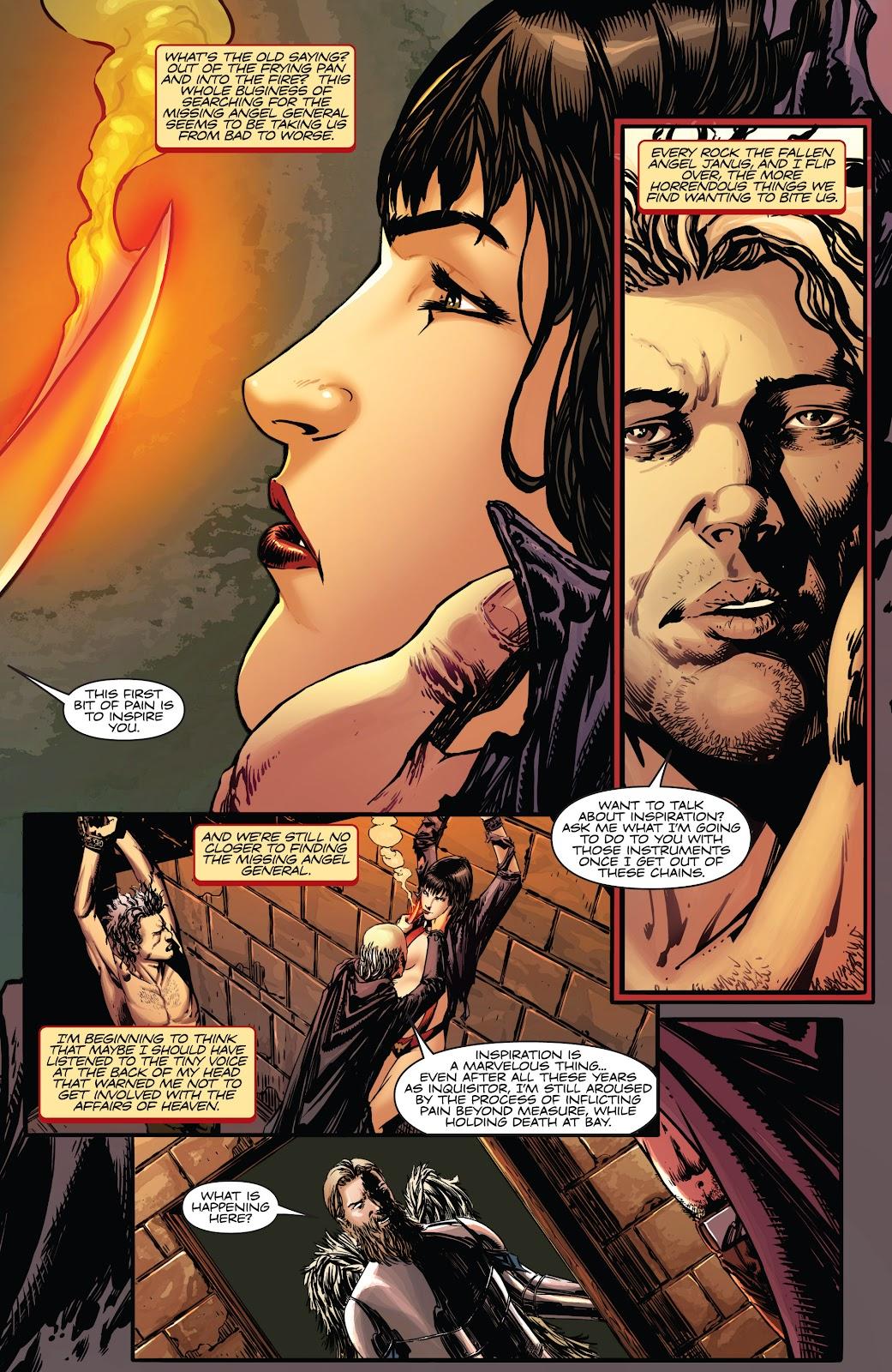 Read online Vampirella Strikes comic -  Issue #5 - 7
