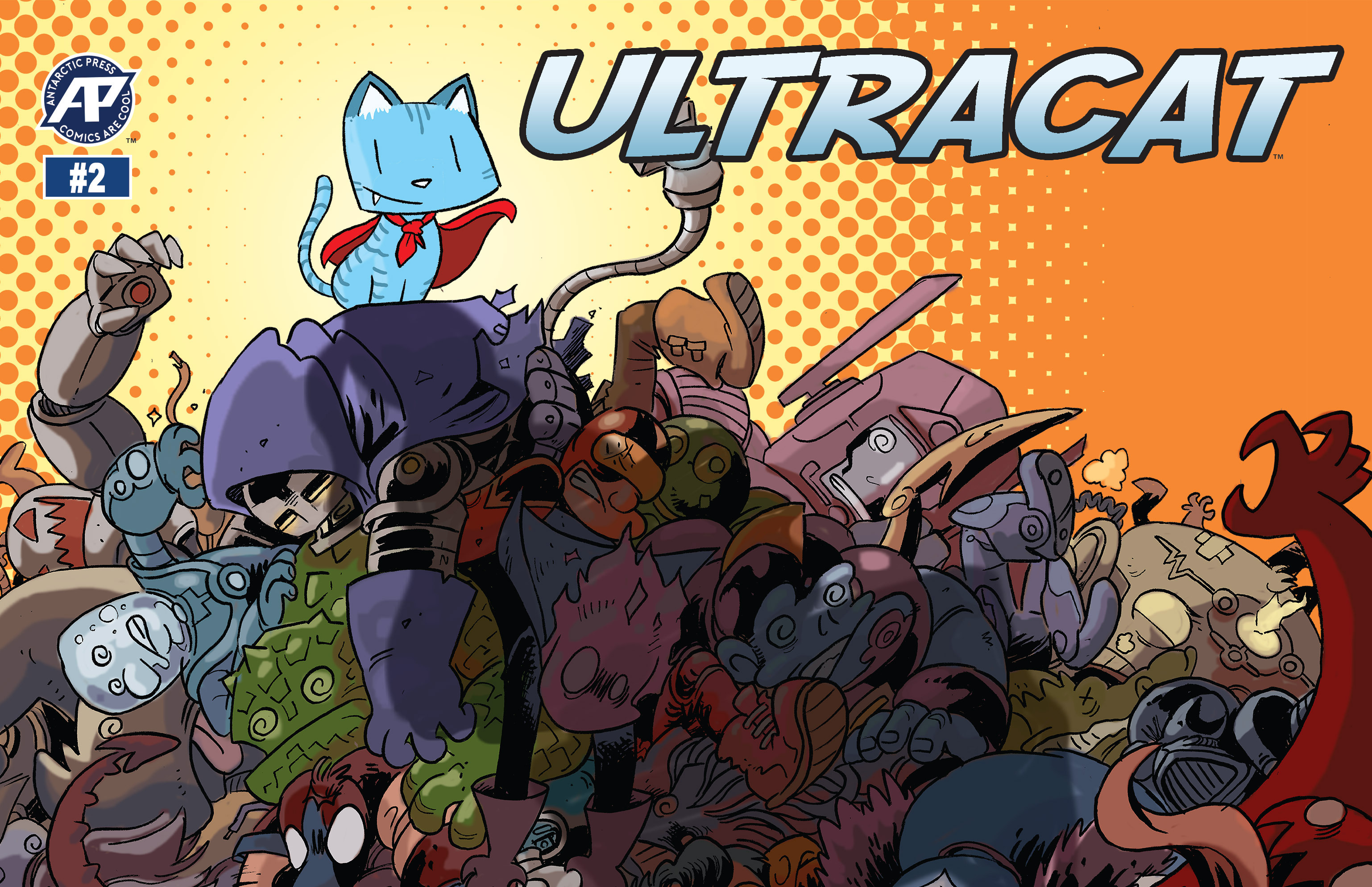 Read online Ultracat comic -  Issue #2 - 1
